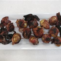 Bacon Wrapped New Potatoes Eric