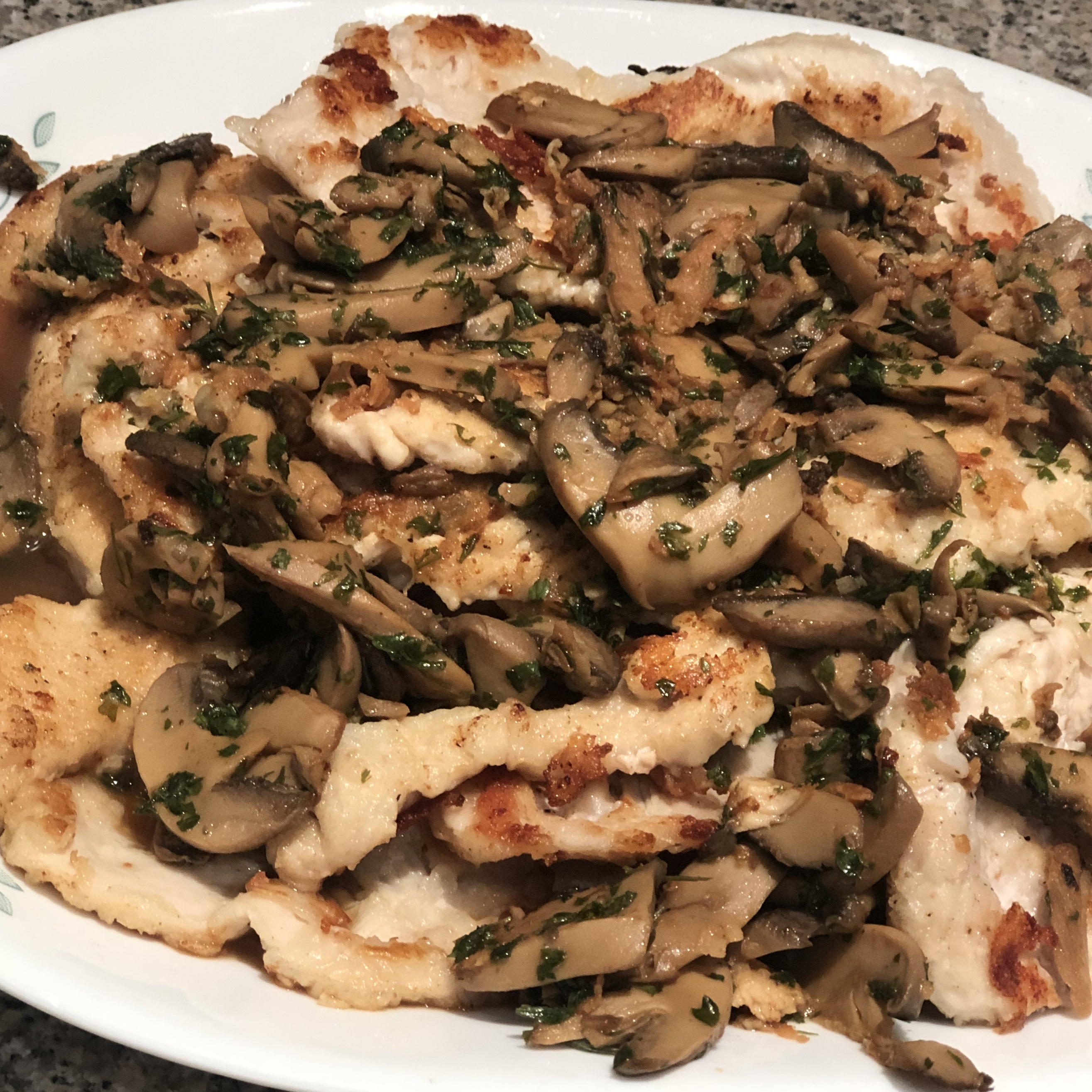 Veal or Chicken Marsala Annette Lincer-Raia