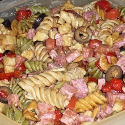 Kathy's Delicious Italian Pasta Salad Josephine Roeper