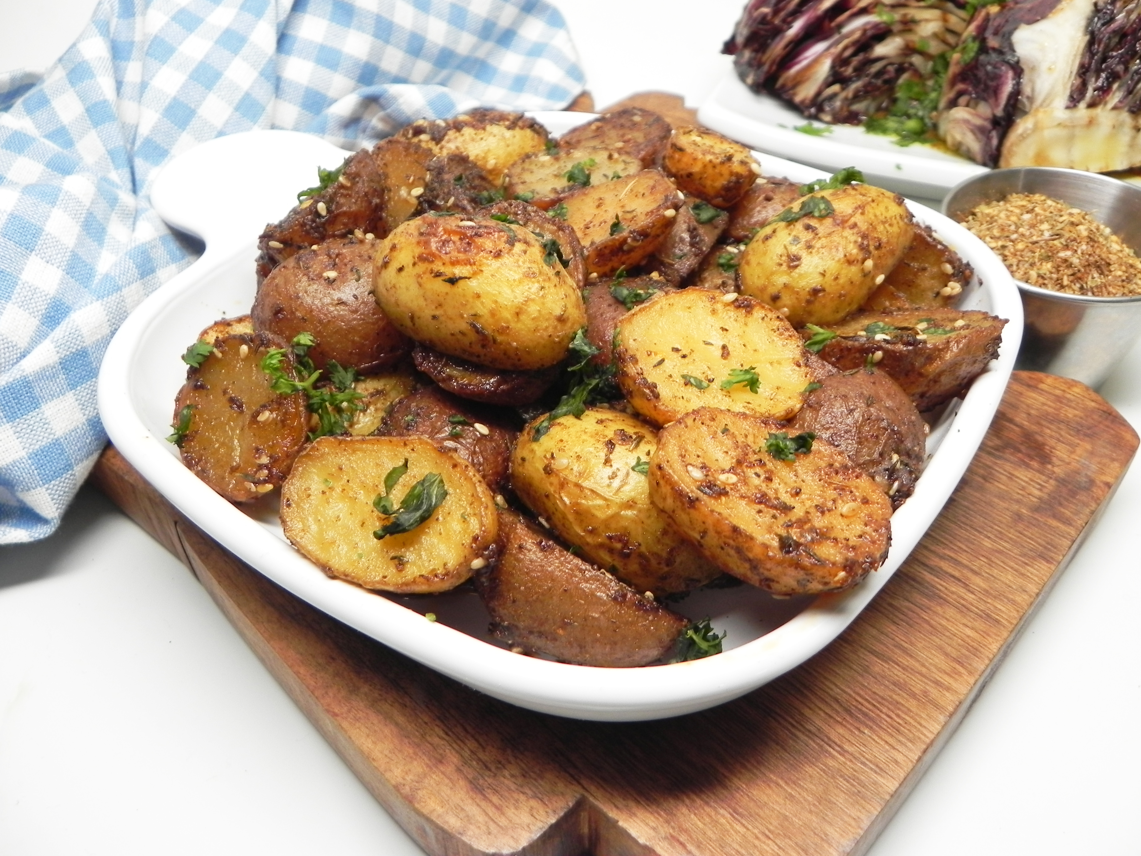 Roasted Za'atar Potatoes