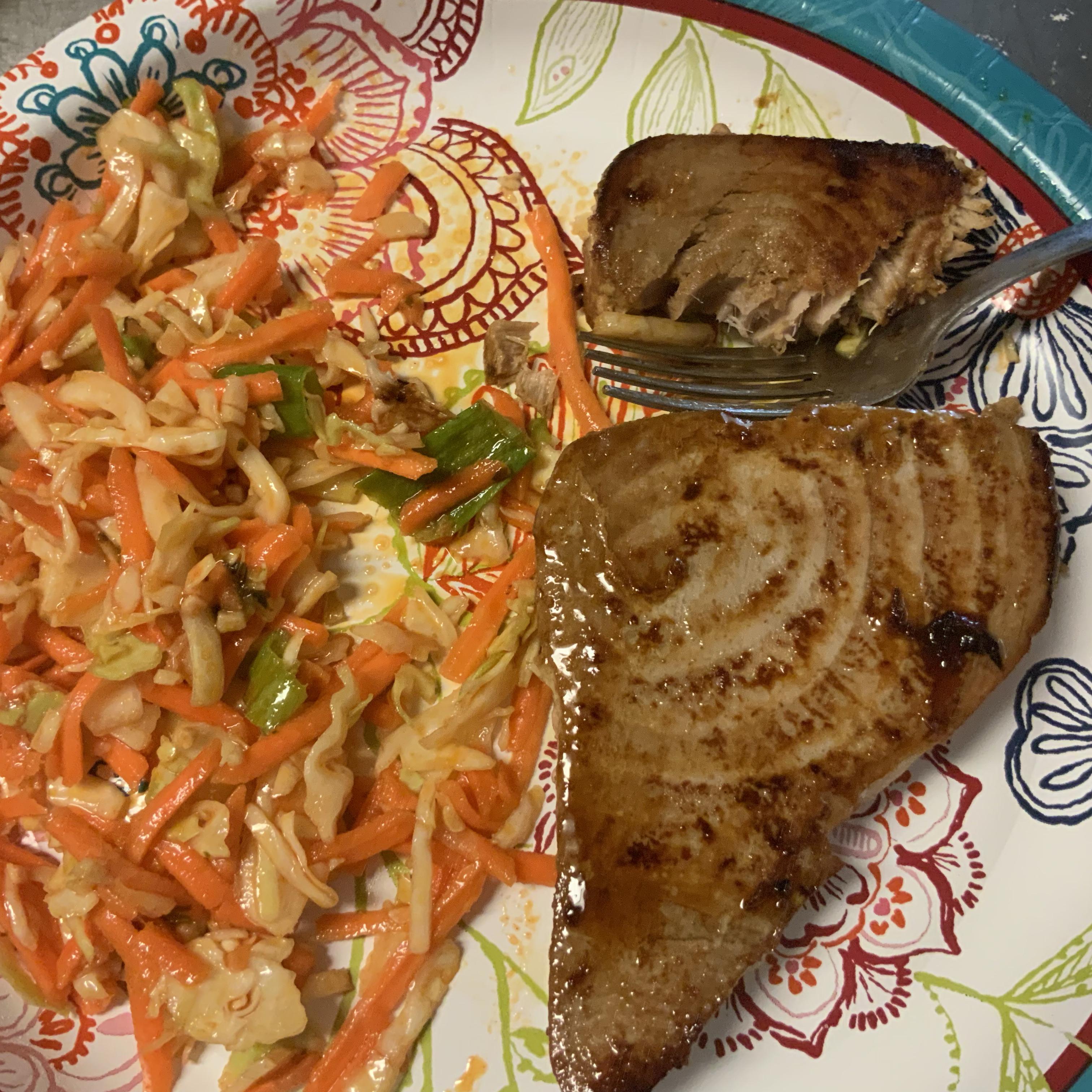 Savory Pan-Seared Tuna Steaks
