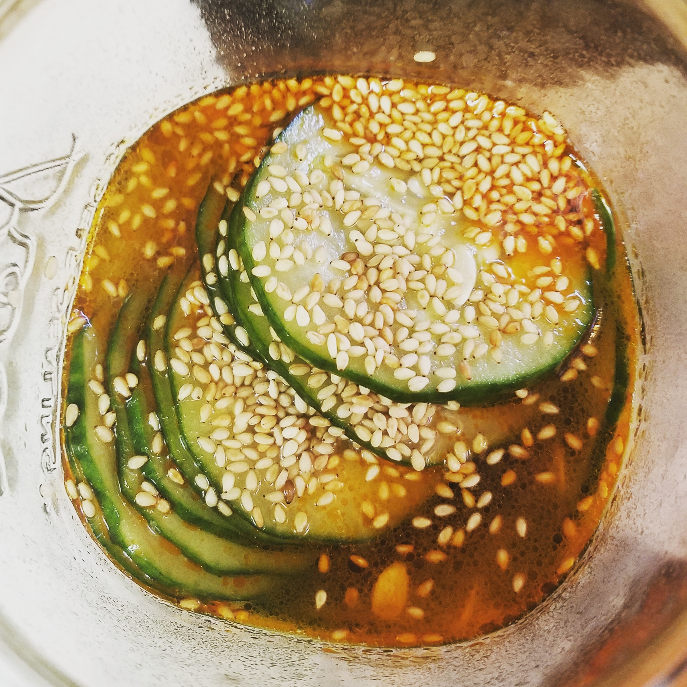 Japanese-Style Pickled Cucumber (Sunomono) Teresa Beach-Koecher