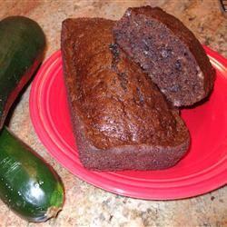 Chocolate Zucchini Bread I