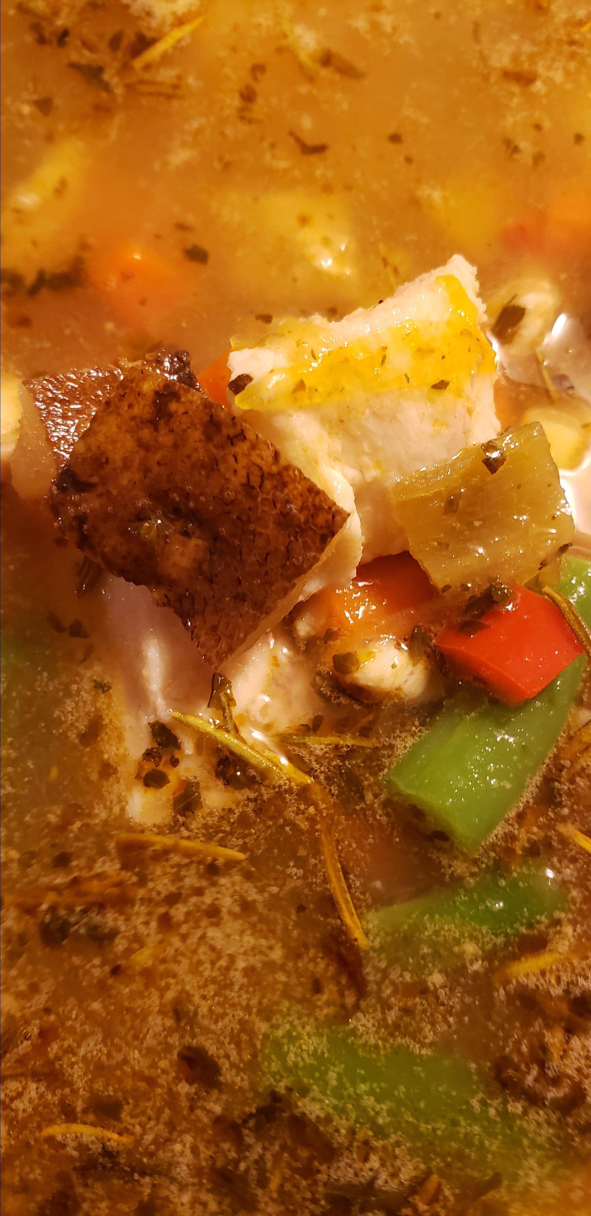 Spicy Fish Soup Melissa Adams