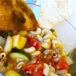 Zucchini Tomato Soup I sarahkim