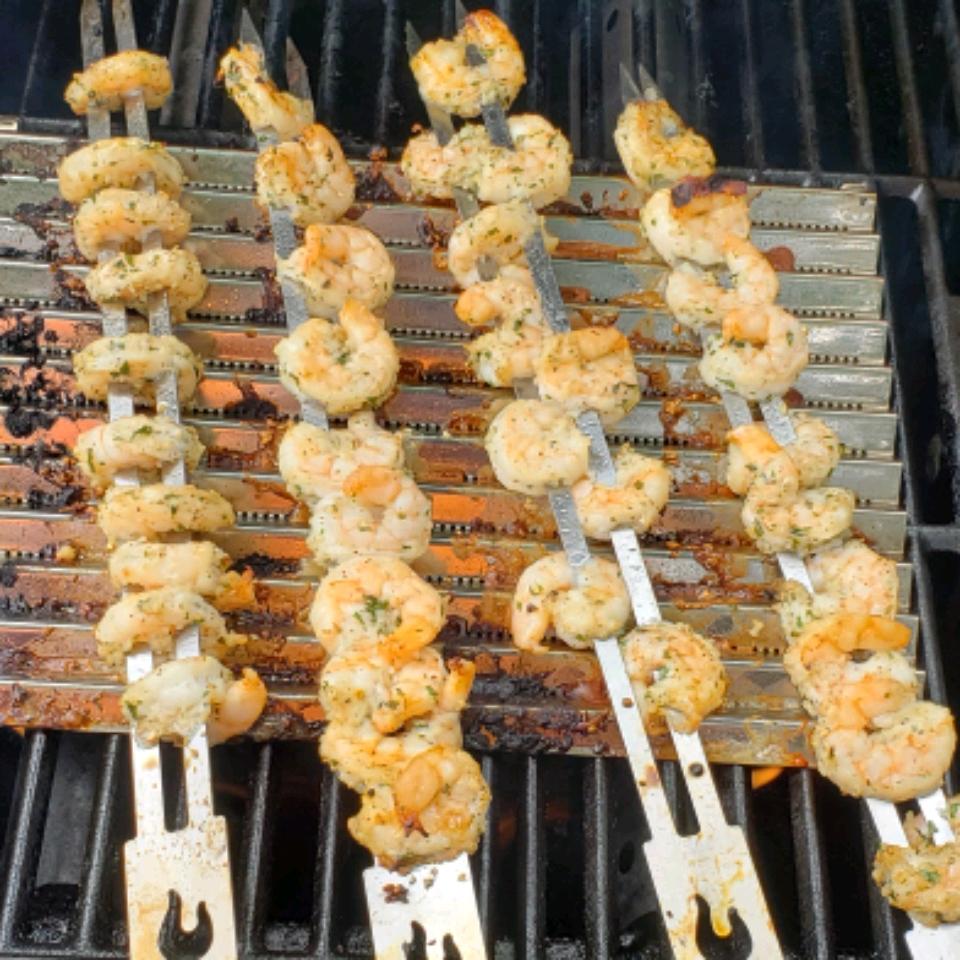 Garlic Shrimp Kabobs Patrick Knight