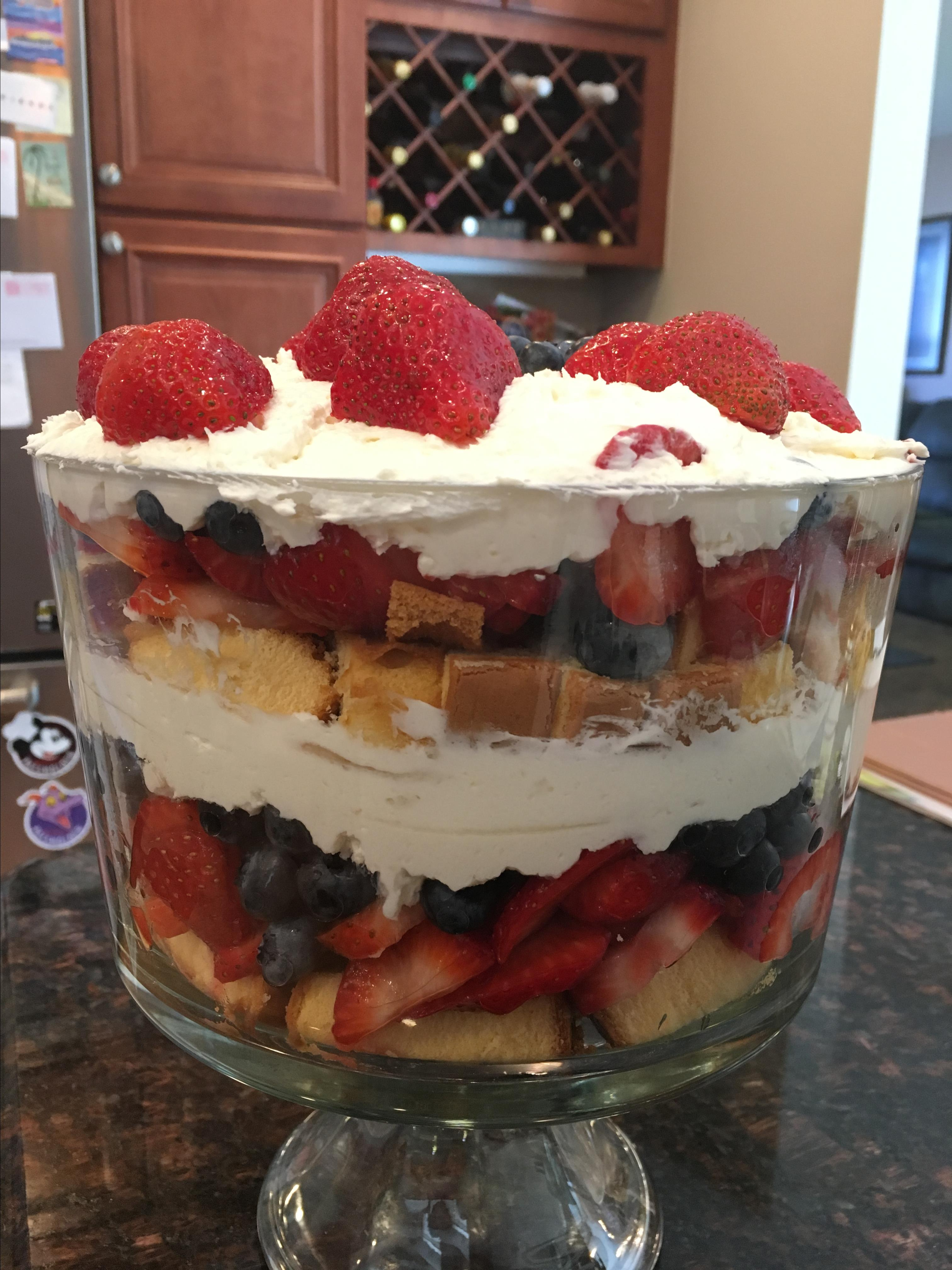 All American Trifle Tracey