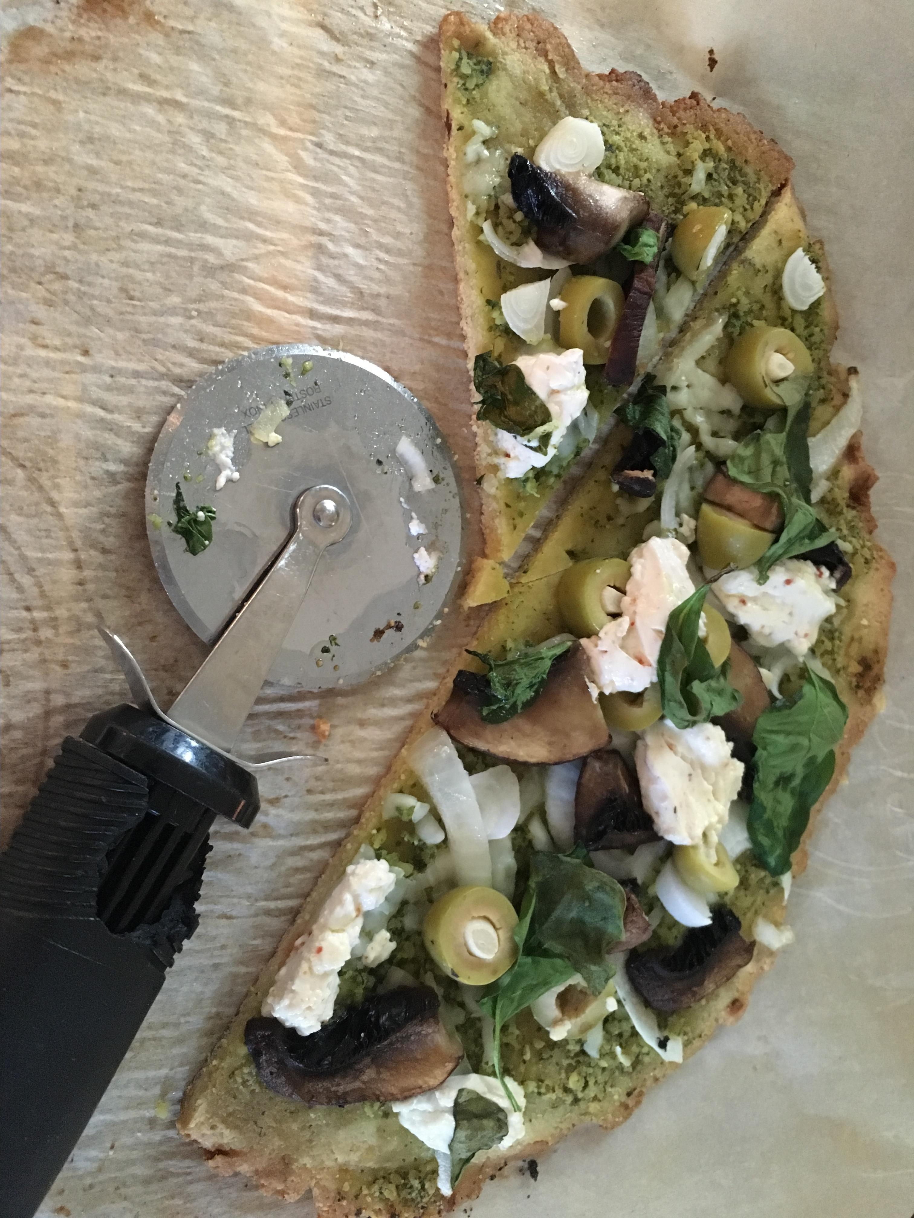 6-Ingredient Gluten-Free Paleo Pizza Crust