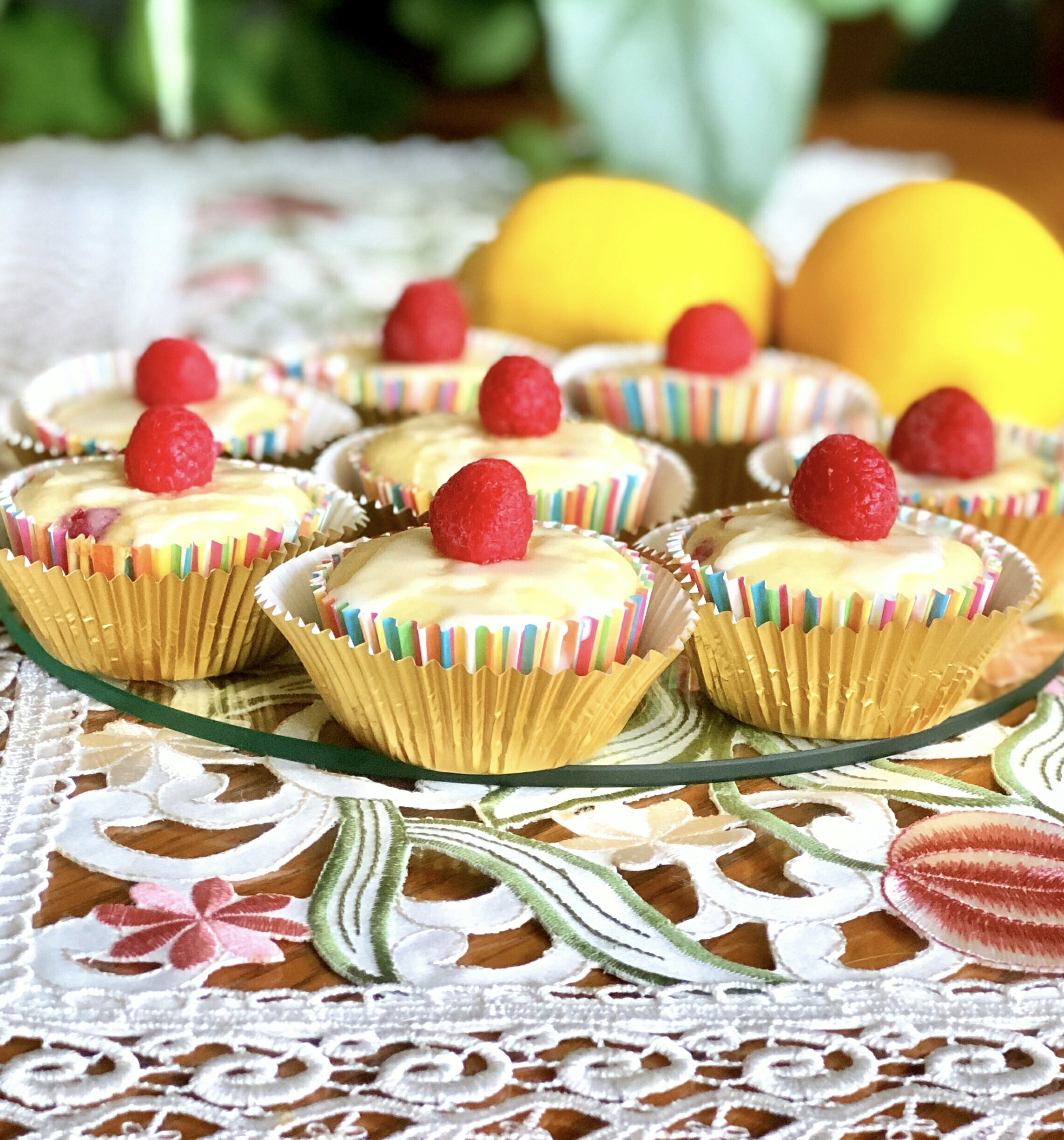 Raspberry-Lemon Cupcakes