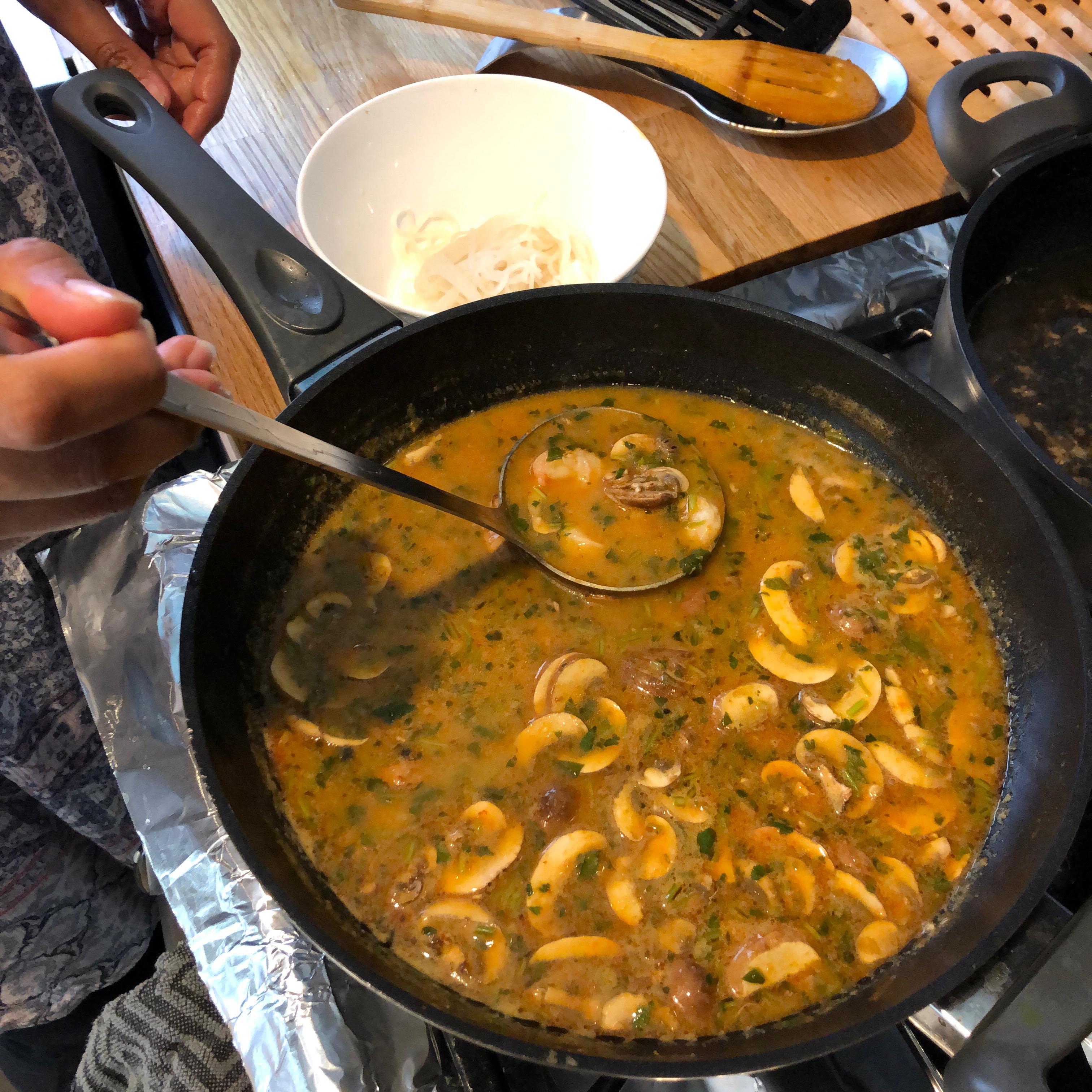 Thai Hot and Sour Soup sumairian