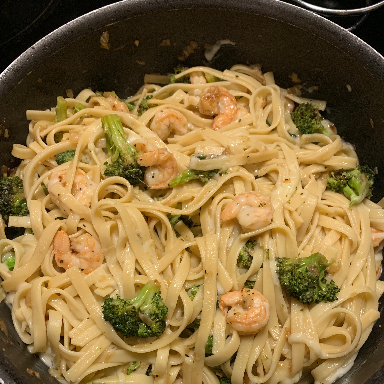 Kahala's Shrimp and Broccoli Toss Maia Wells