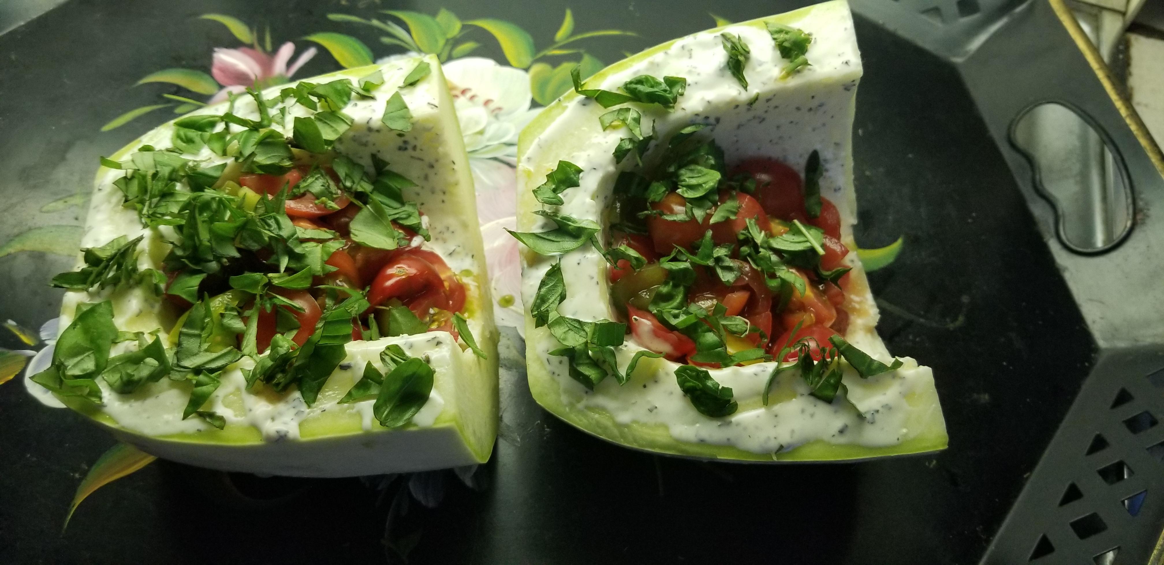Grilled Stuffed Zucchini Boats Karen Teague