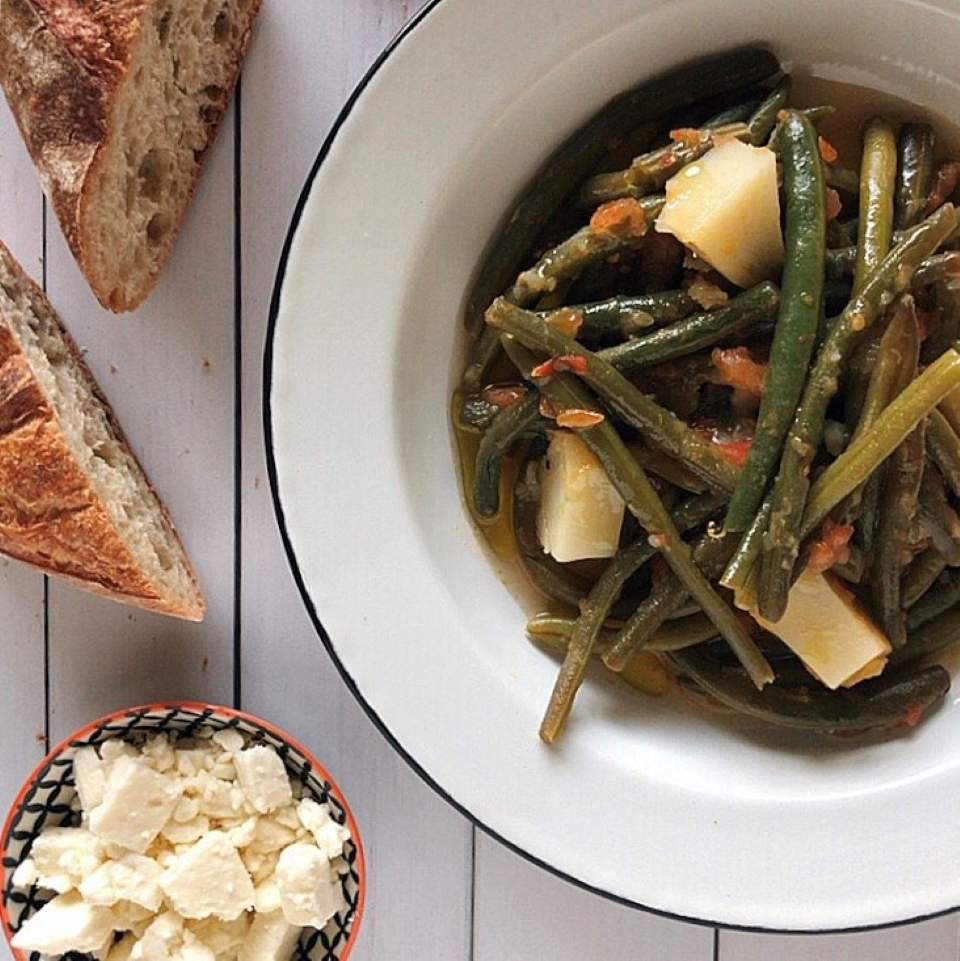 Fasolakia (Greek Green Beans) LauraF