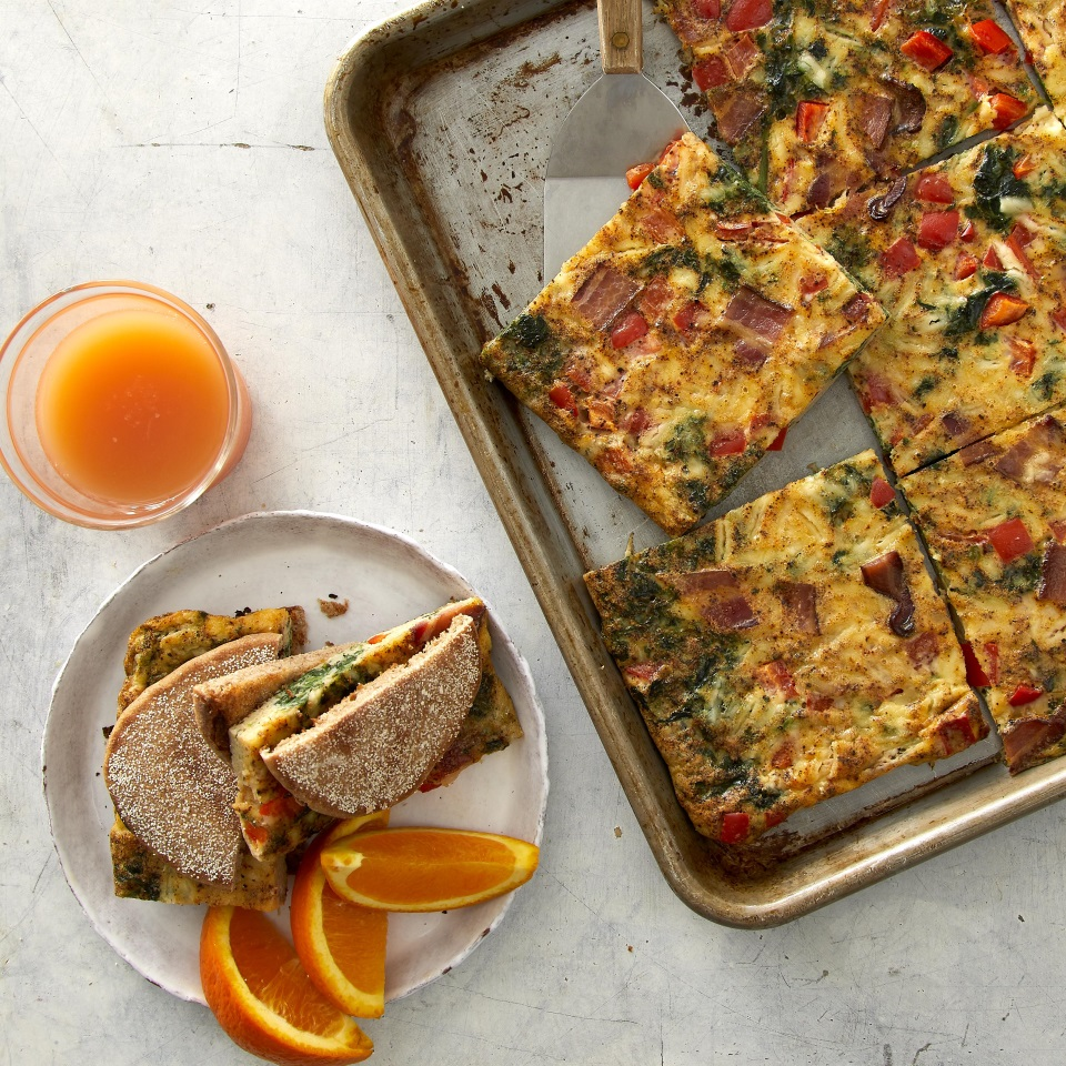 Sheet-Pan Egg Sandwiches for a Crowd Carolyn Casner