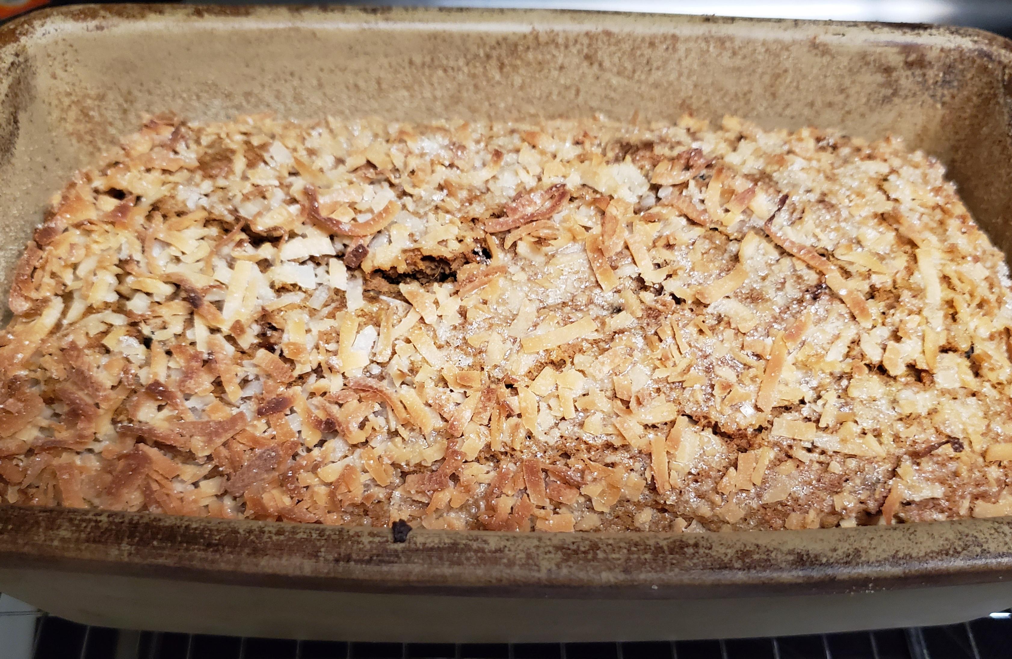 Sweet Potato and Coconut Bread lita lee