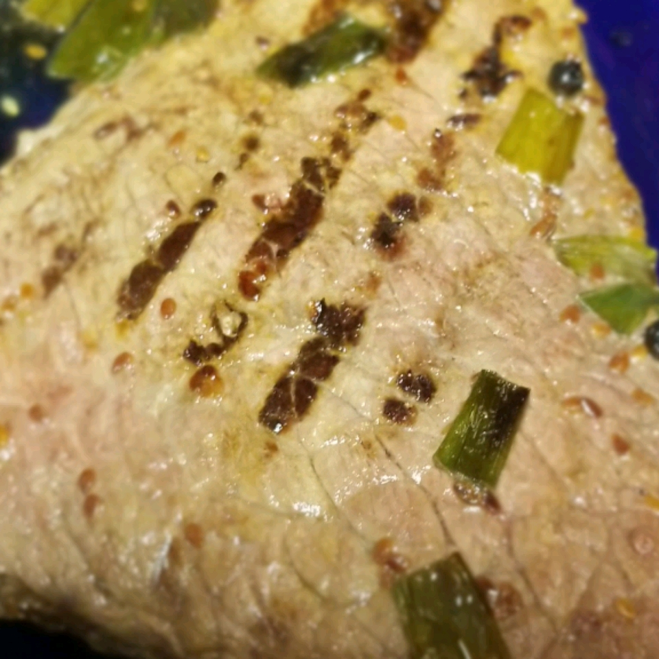 Grilled Sesame Steak