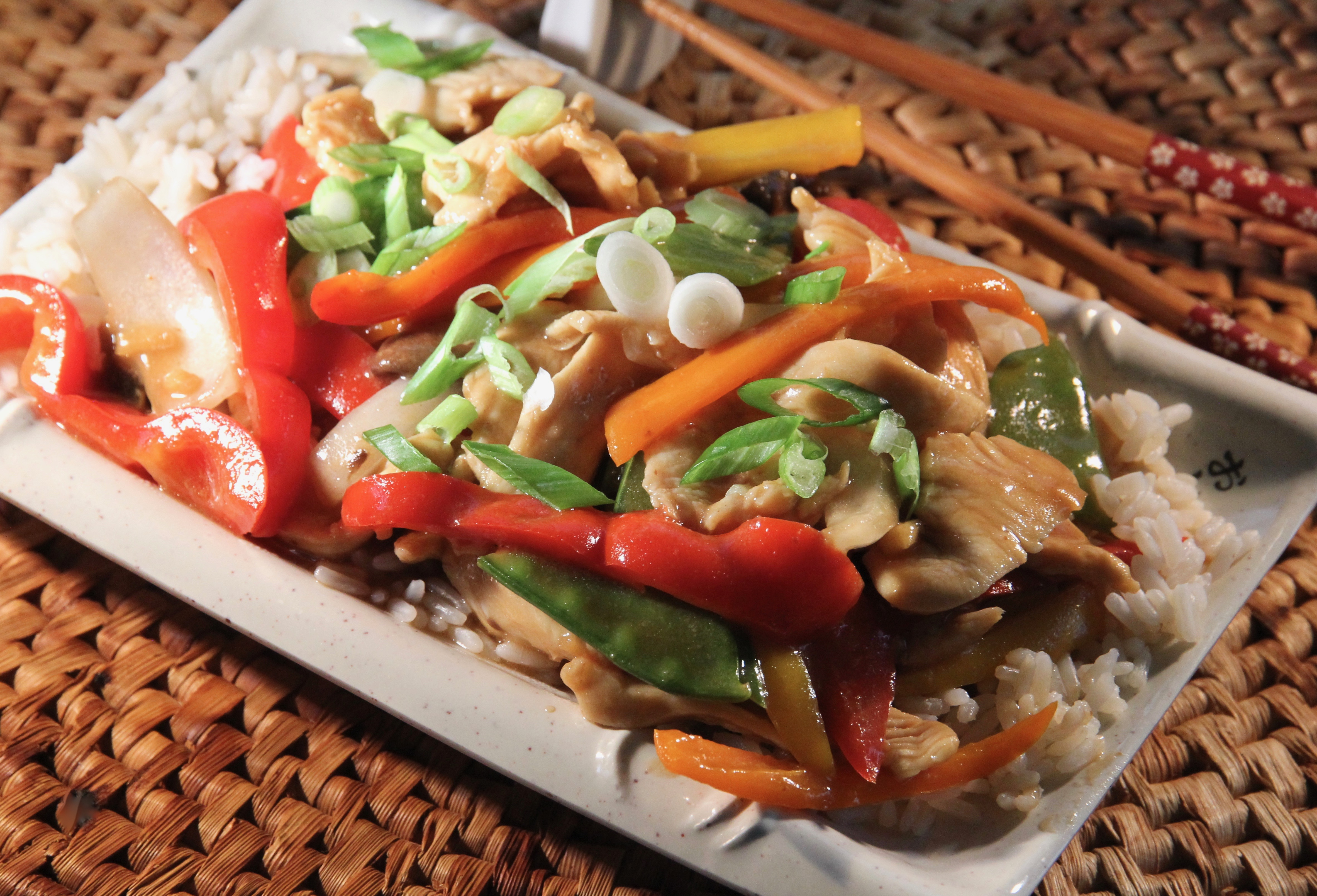 Ginger-Chicken Stir-Fry