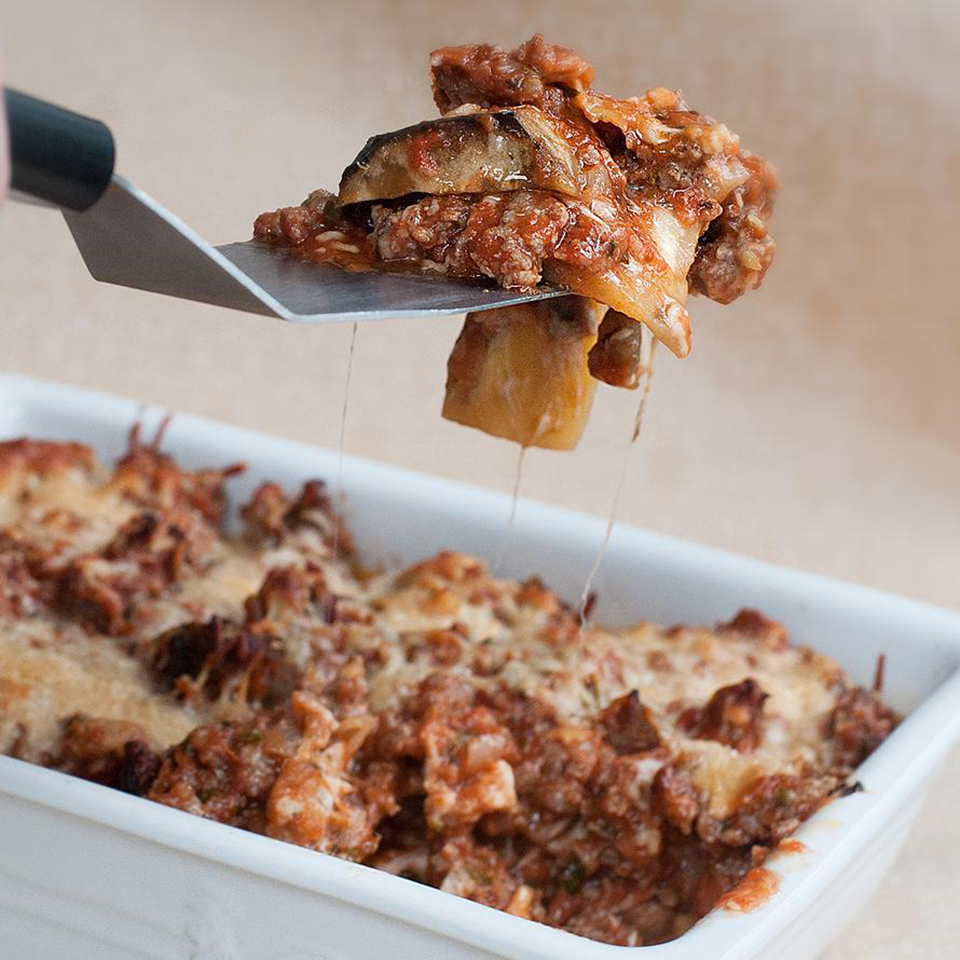 Eggplant and Ground Beef Lasagna Bethany T.