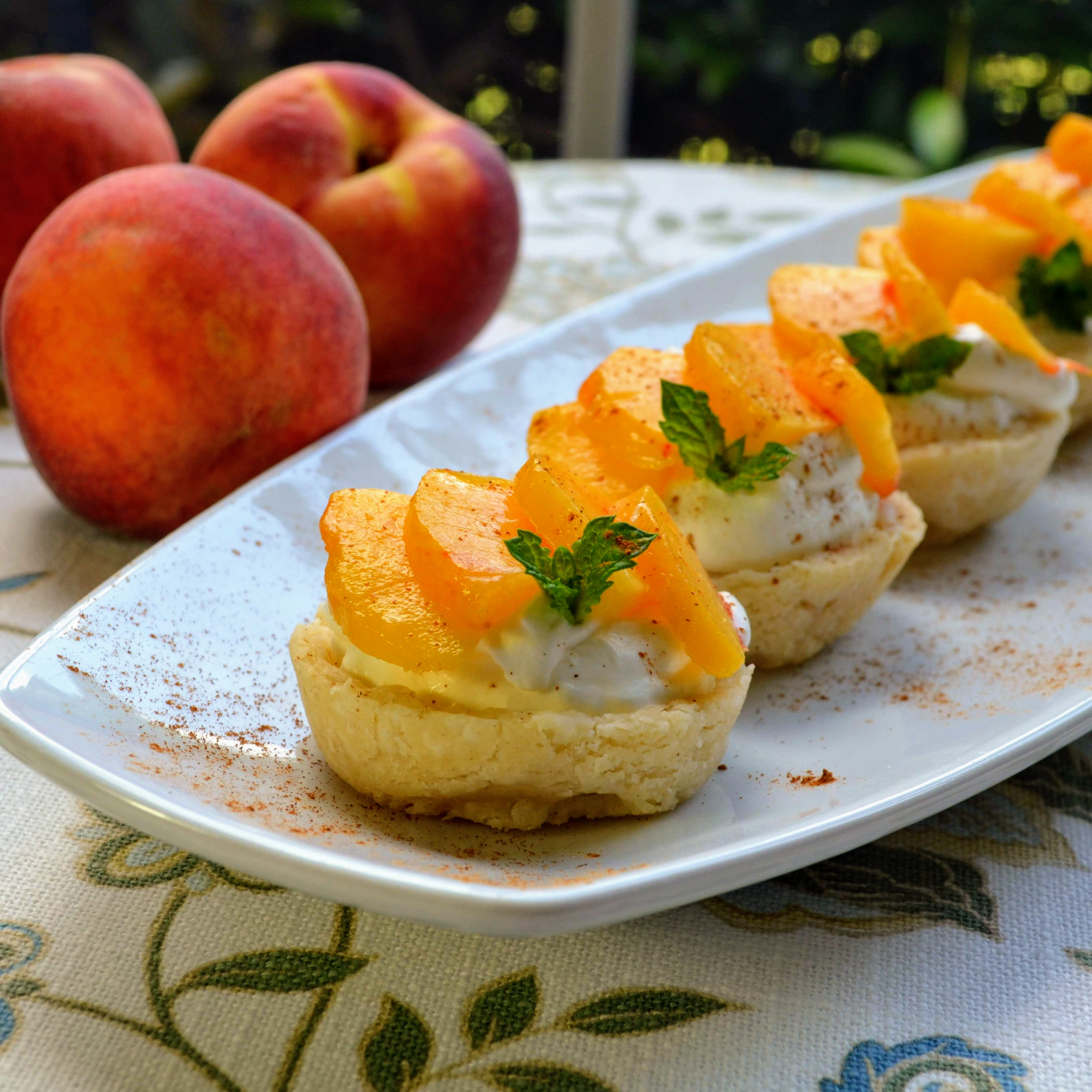 Refreshing Peach Cups Bakewithlove