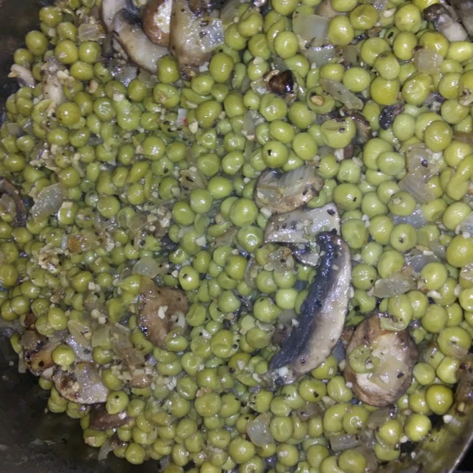 Peas with Mushrooms
