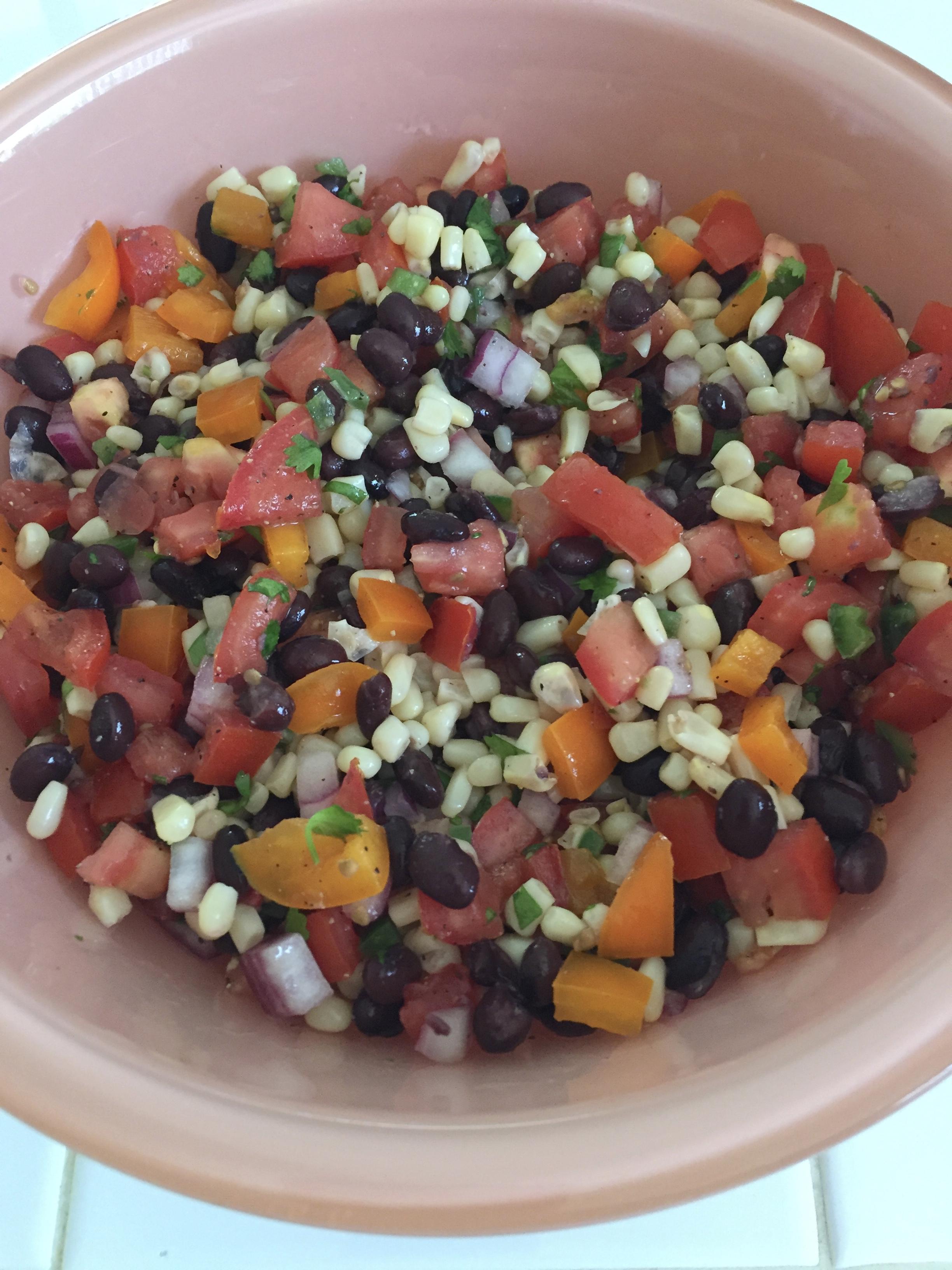 Black Bean Avocado Salsa Kats15