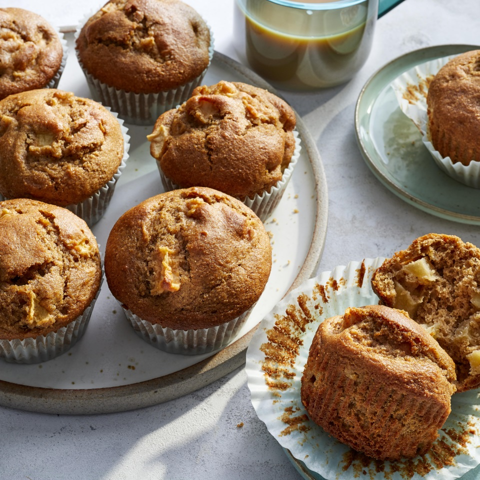 Apple-Cinnamon Muffins Trusted Brands