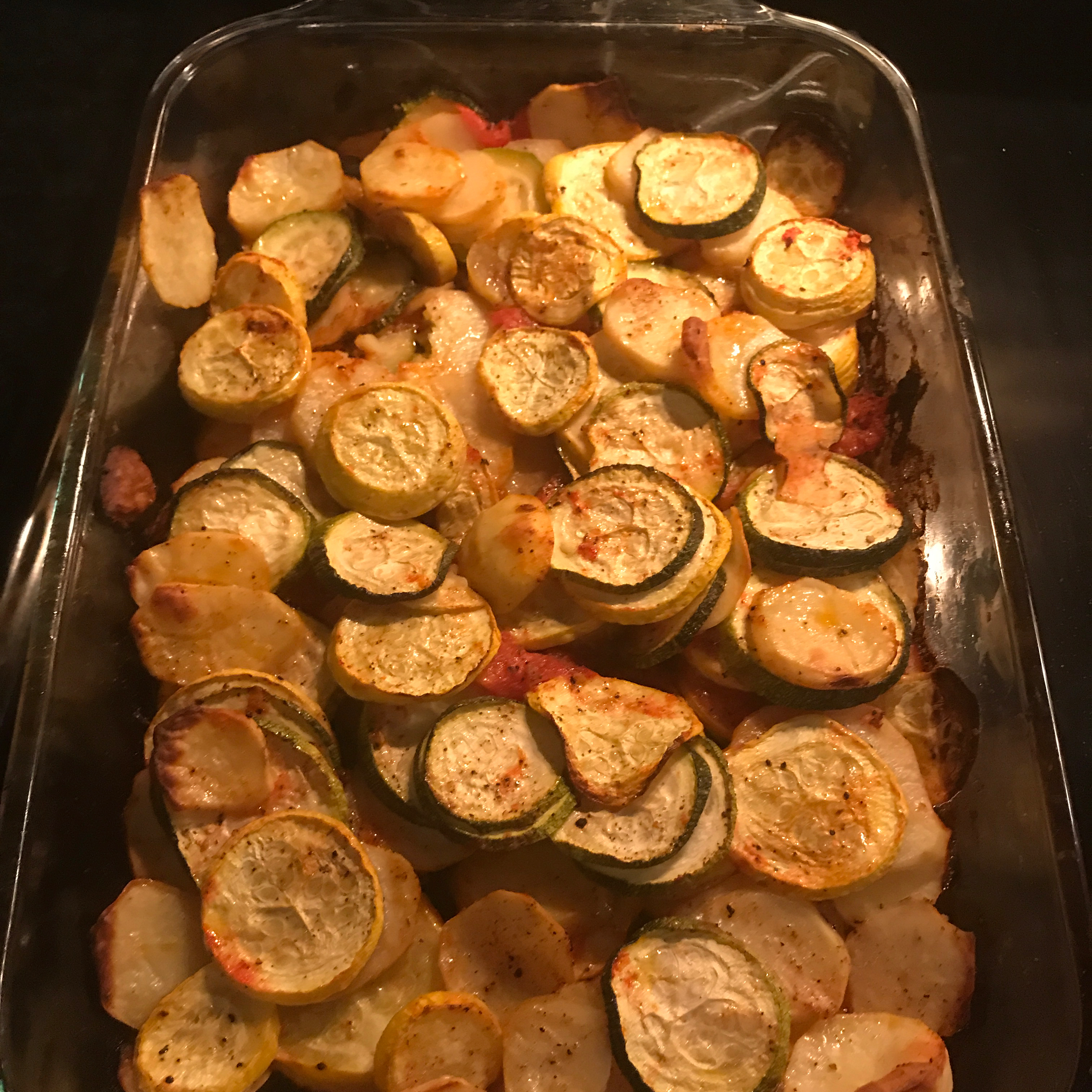 Briam (Greek Baked Zucchini and Potatoes) Liesbeth Demaer Ingenito