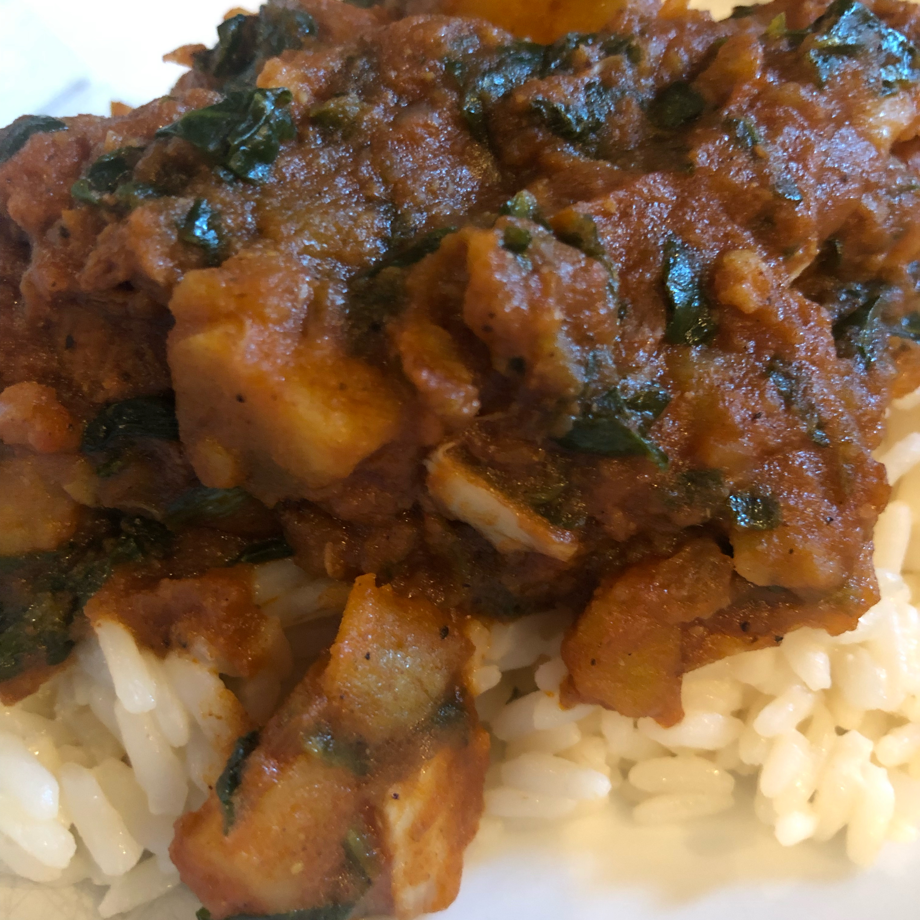 Easy Indian Curried Lamb