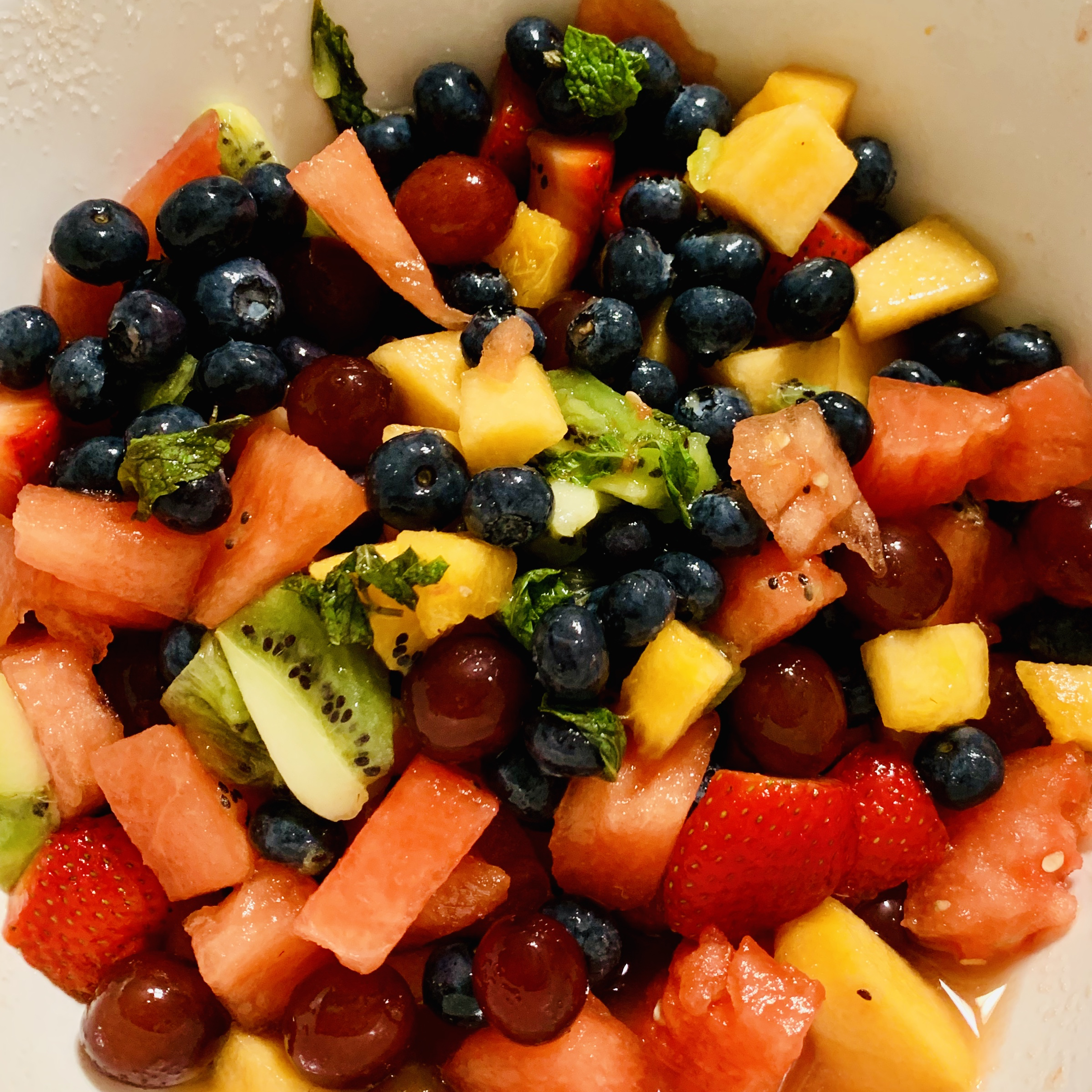 Mojito Fruit Salad cris&erika