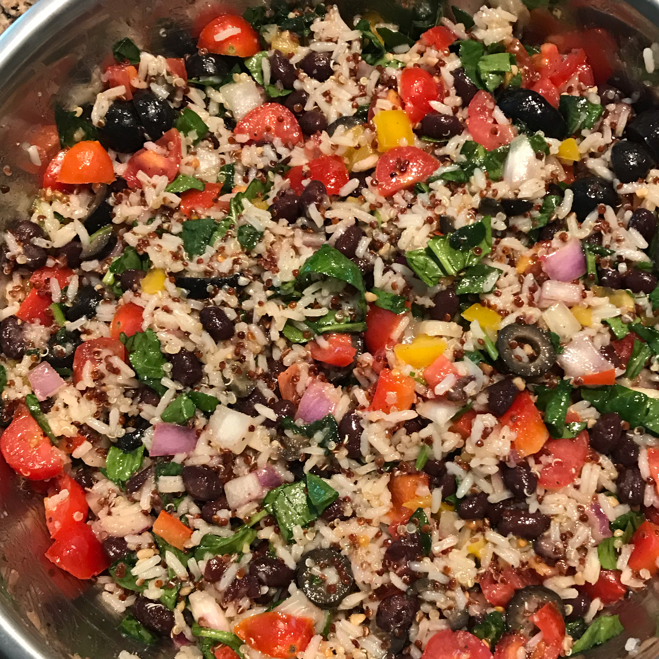 Summer Quinoa Salad Michiganmam