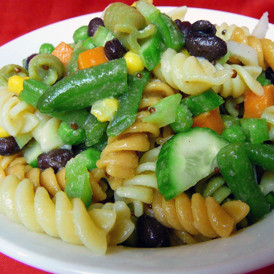 Patchwork Quilt Pasta Salad