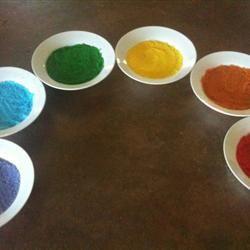 Colored Sugar