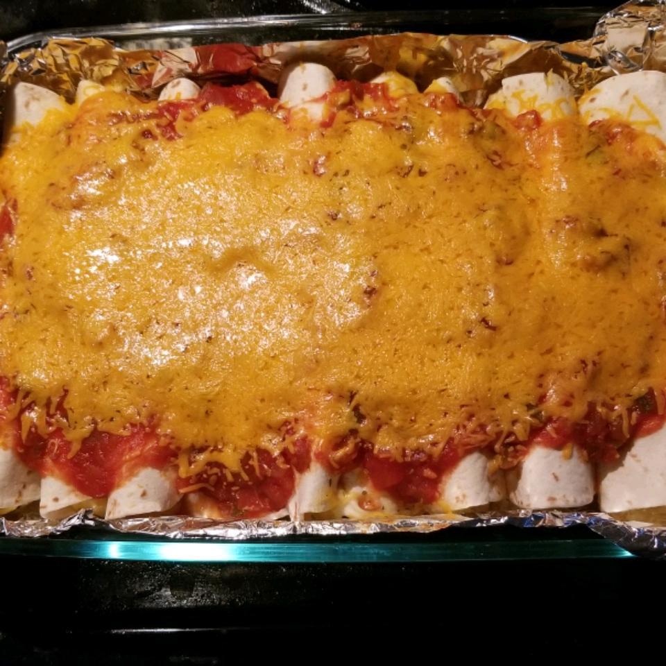 Creamy Chicken Enchiladas from Reynolds Wrap® Reynolds Kitchens(R)