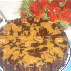 Chocolate Turtles® Cheesecake I DEBASHEY