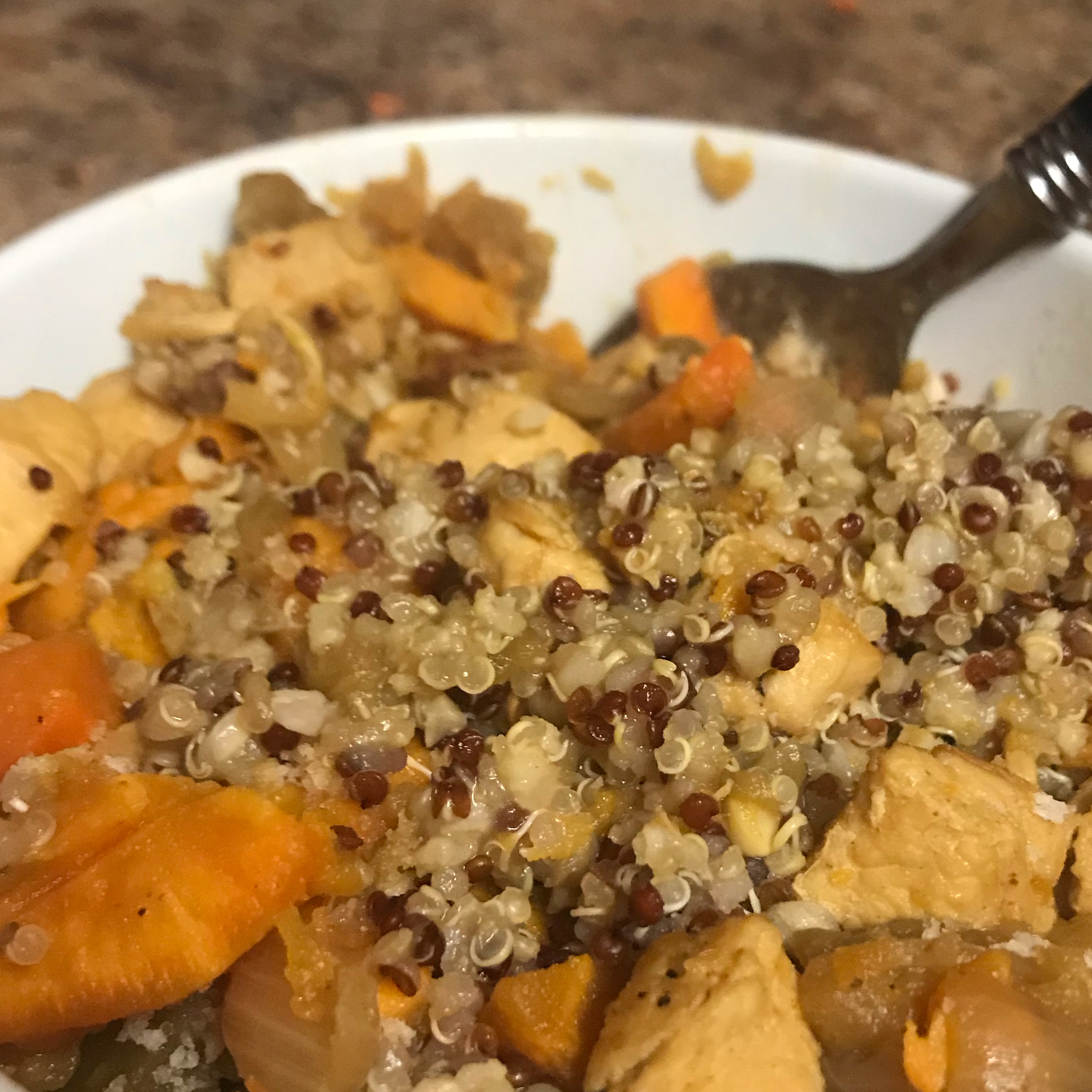 Healthy Turmeric Chicken Stew