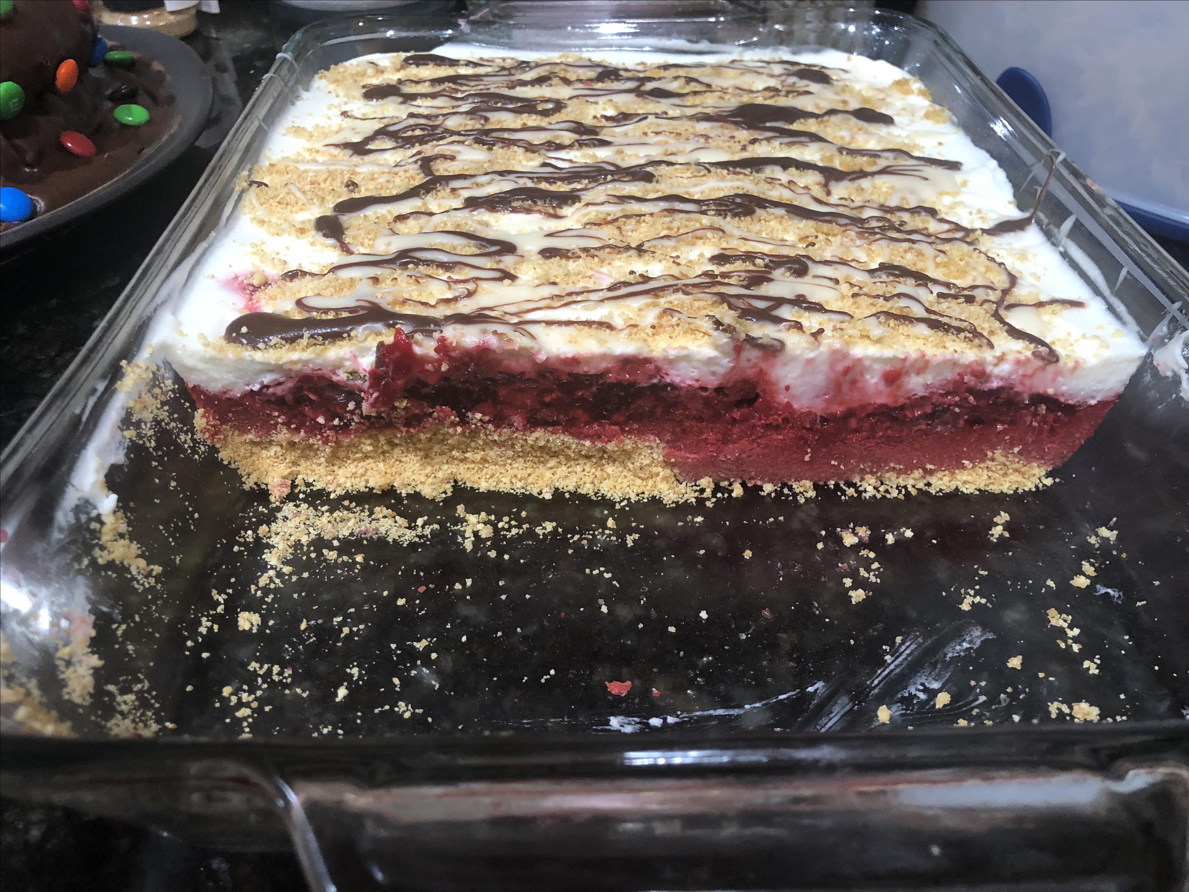 Raspberry Icebox Cake Antje Zell