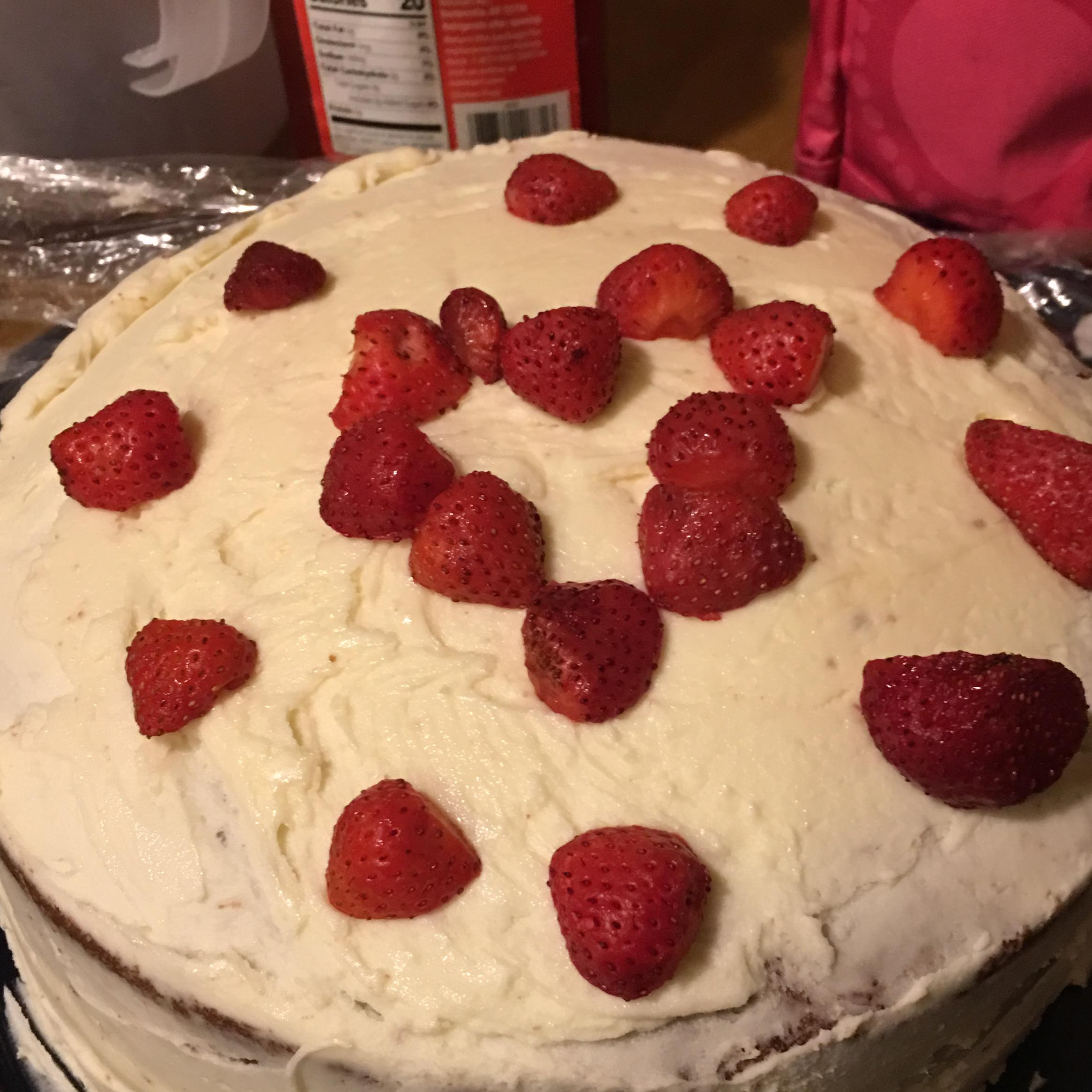 Red Velvet Cheesecake with Buttercream Frosting RachelS