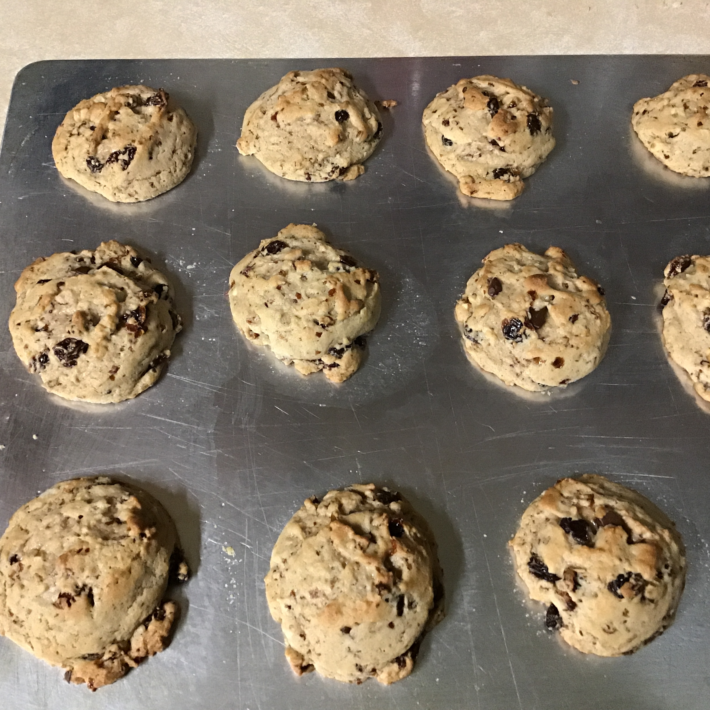 Grandma M's Raisin Cookies