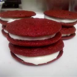 Dawn's Easy Red Velvet Sandwich Cookies