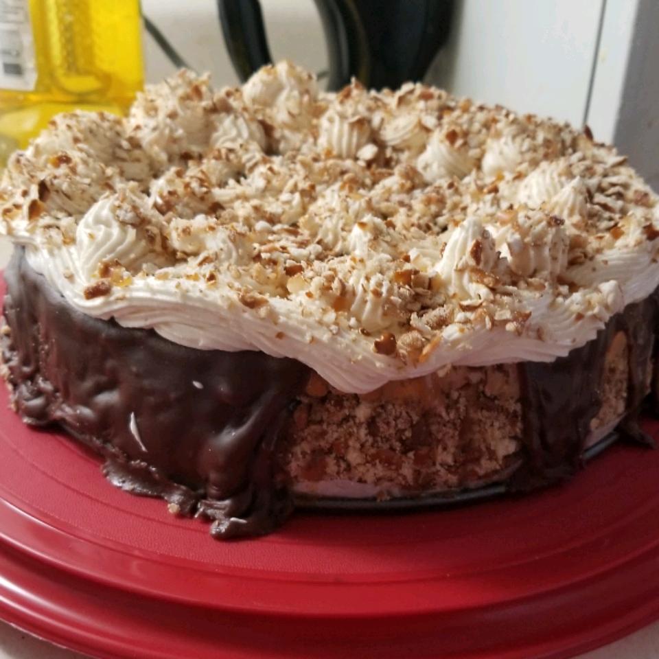 Caramel-Pretzel Cheesecake Mander Dandurand