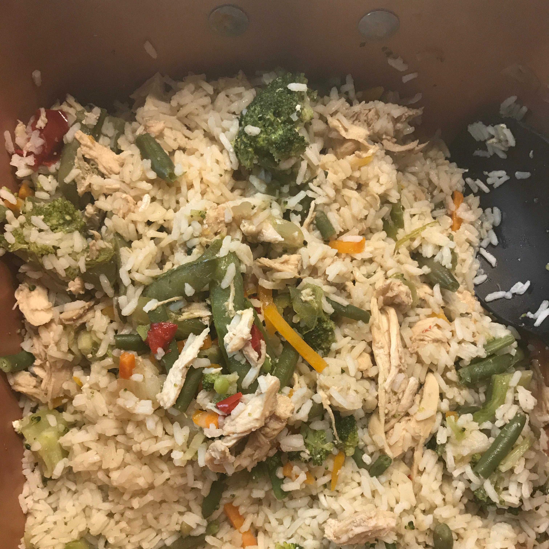 Stir-Fried Rice Minute Rice