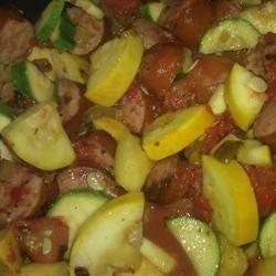 Italian Sausage and Zucchini kymaw