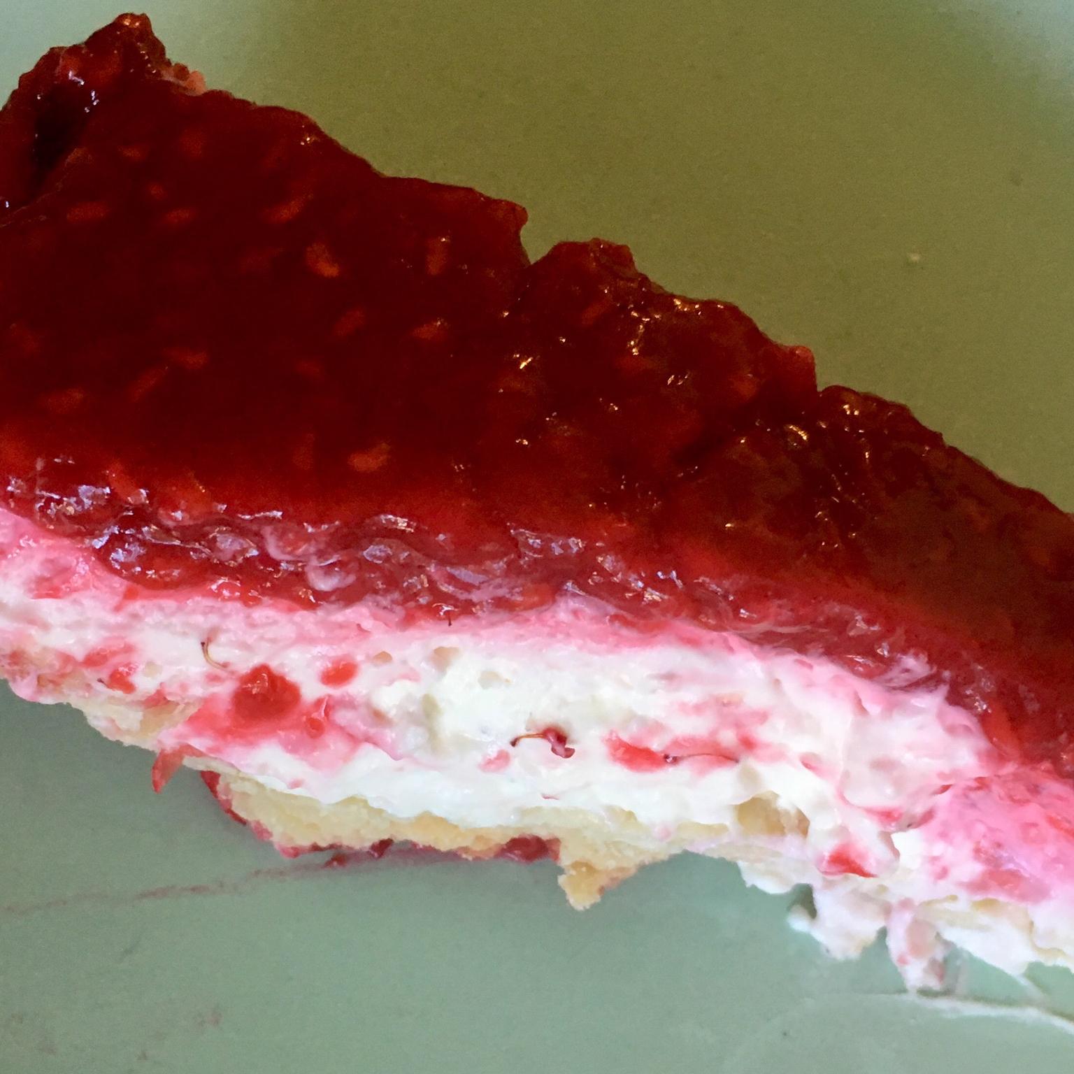 Raspberry Cream Pie Shirley Coulson