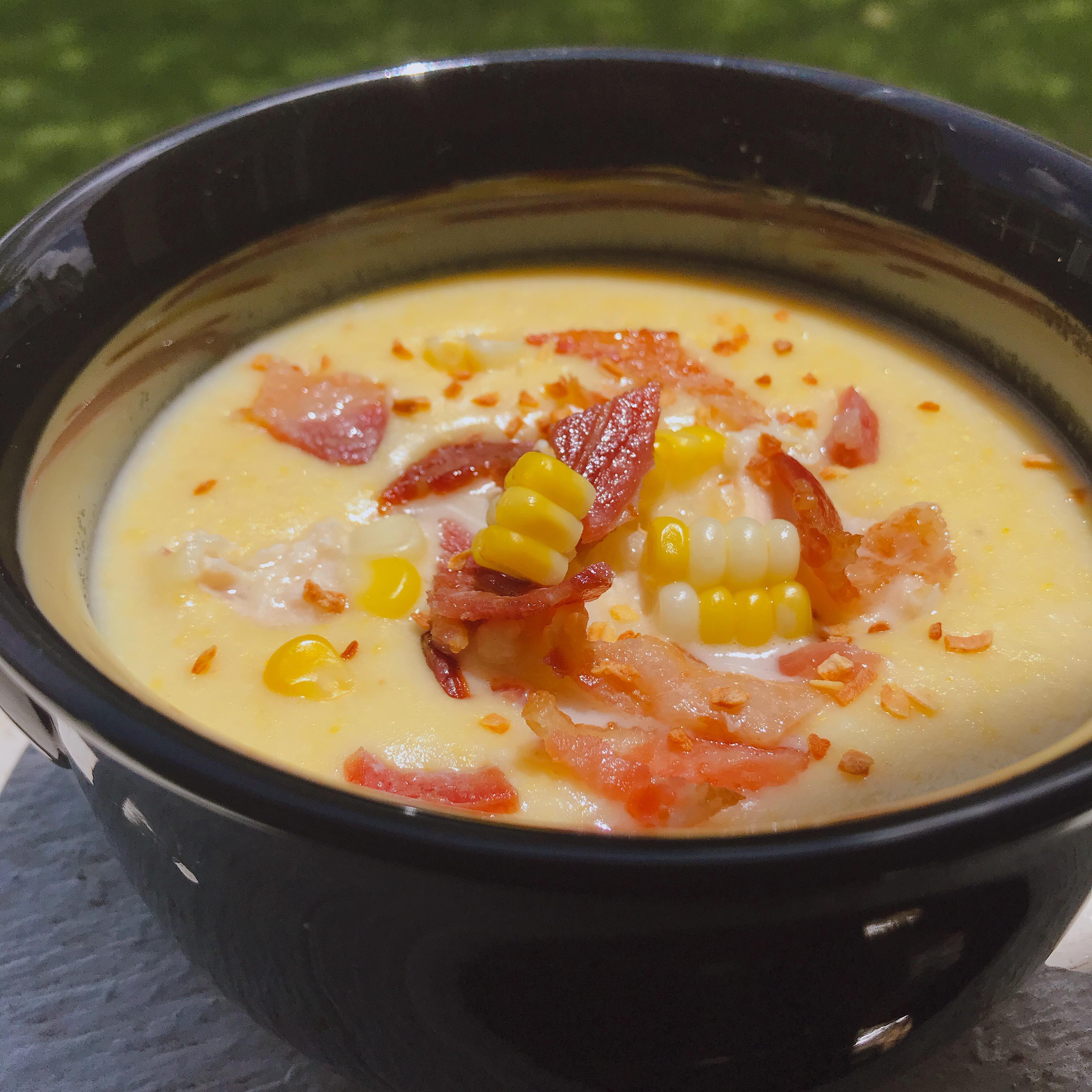 Fresh Corn Chowder thedailygourmet