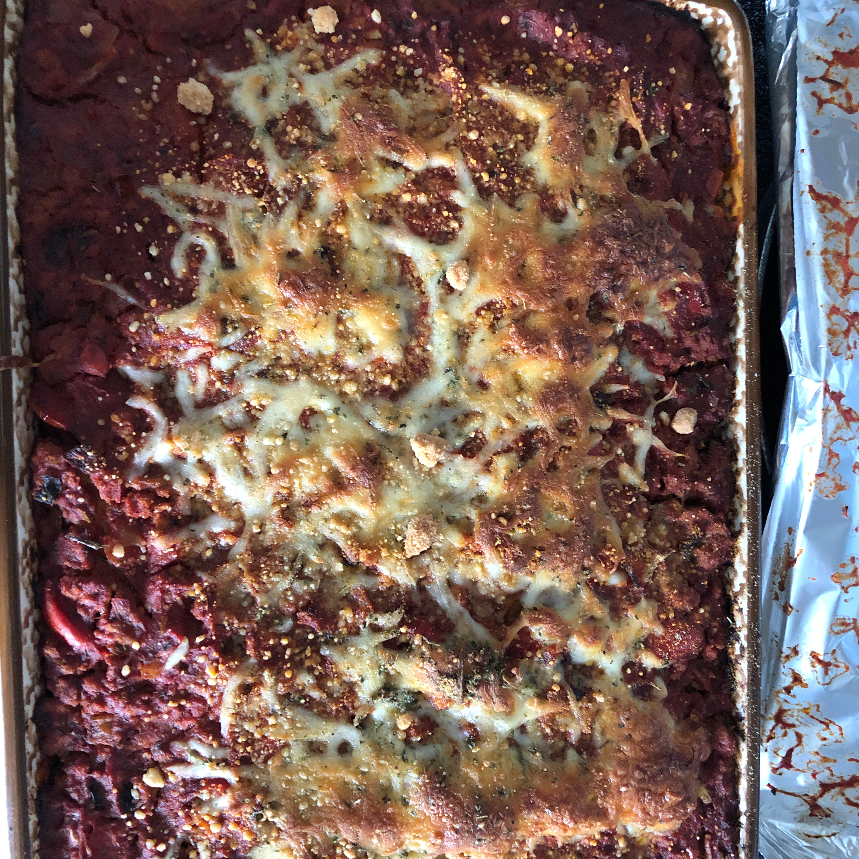 Turkey Lasagna with Butternut Squash, Zucchini, and Spinach