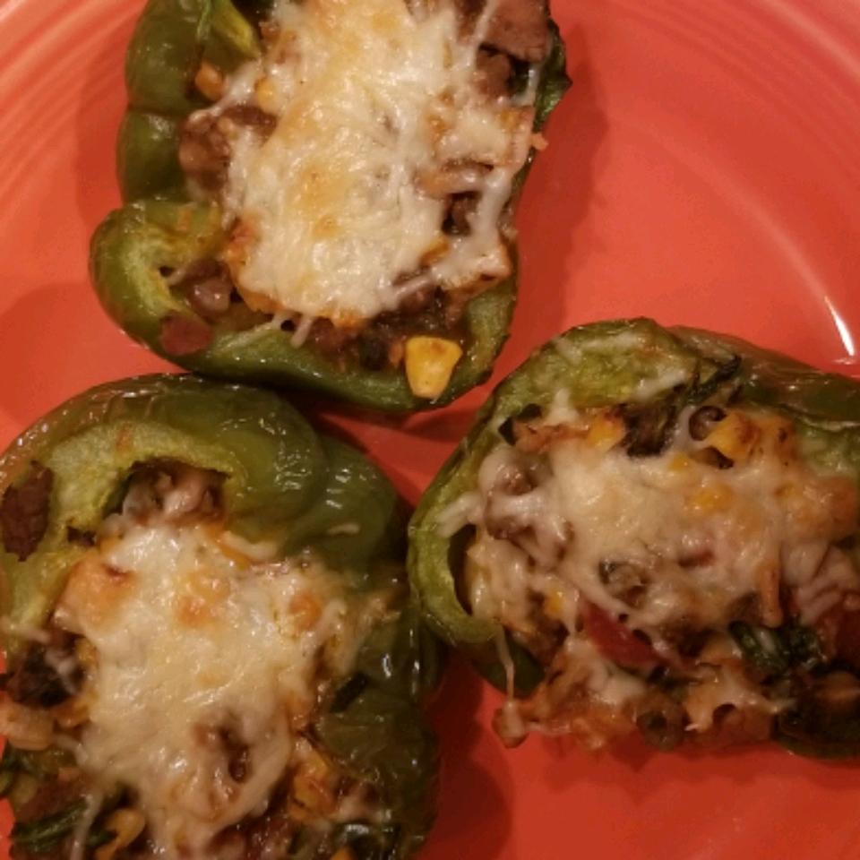 Lasagna-Stuffed Peppers Kathy Deese