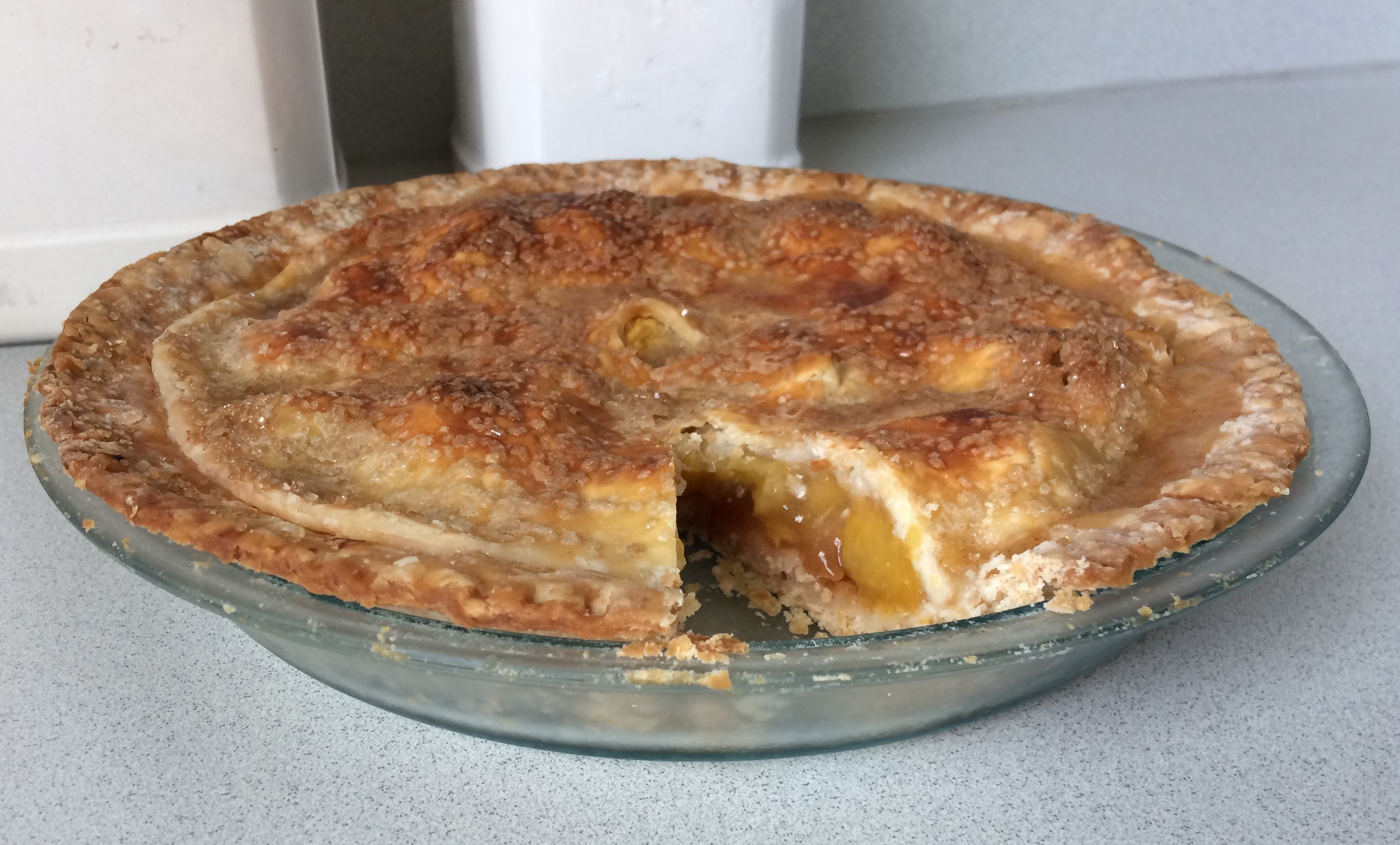 Peach Pie the Old Fashioned Two Crust Way Jack Buchanan