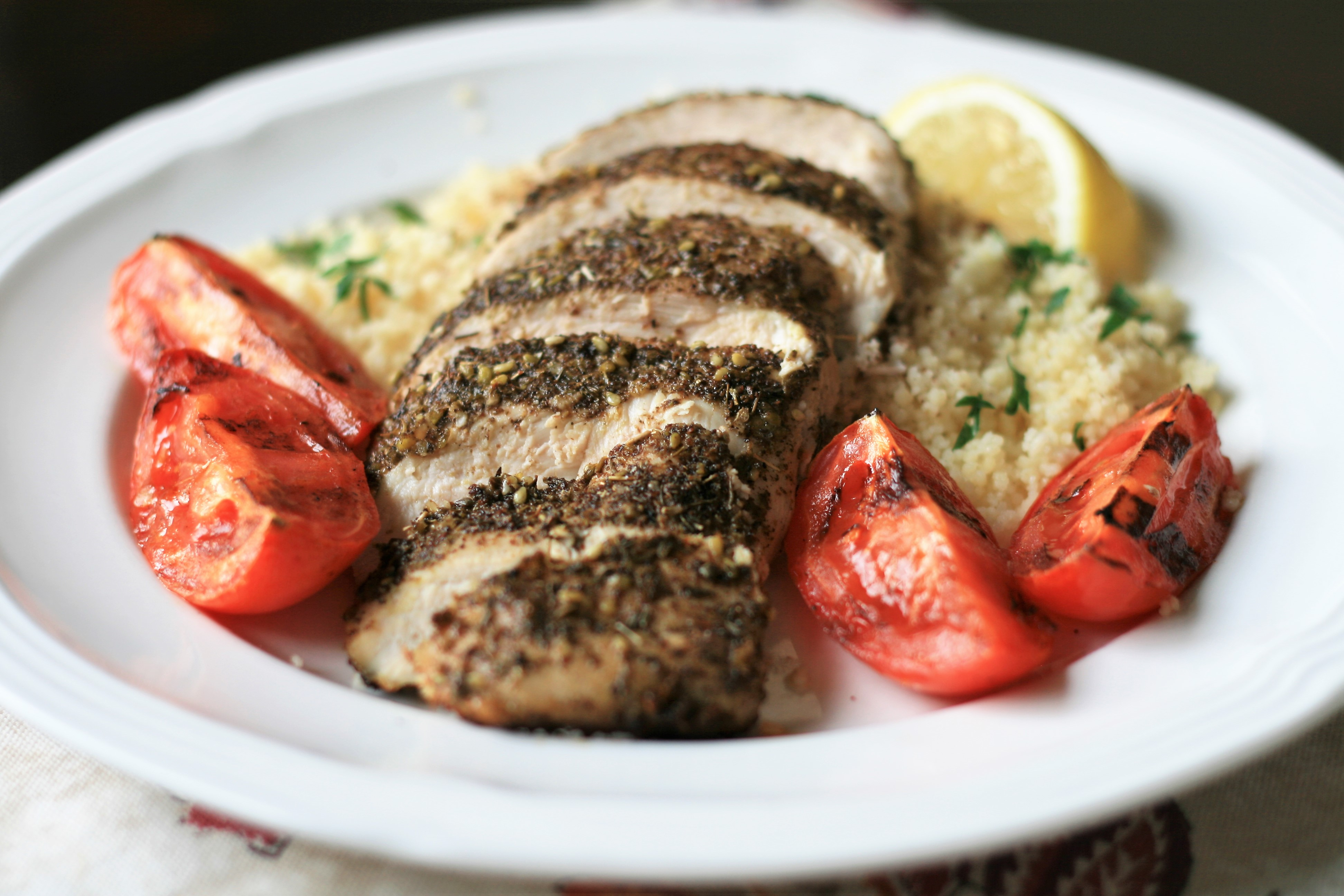 Oven-Roasted Za'atar Chicken Breasts