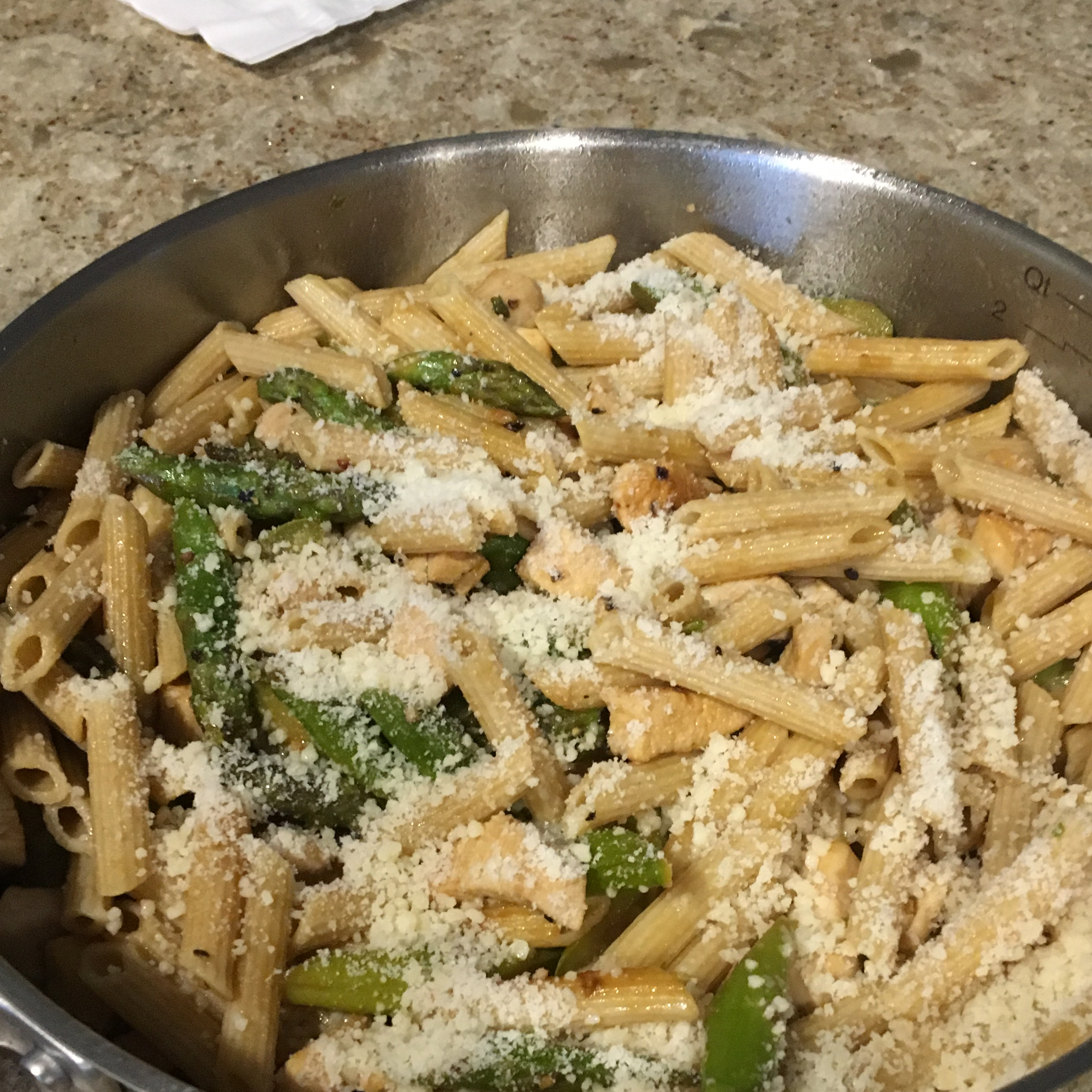 Penne with Chicken and Asparagus Charles McGrath
