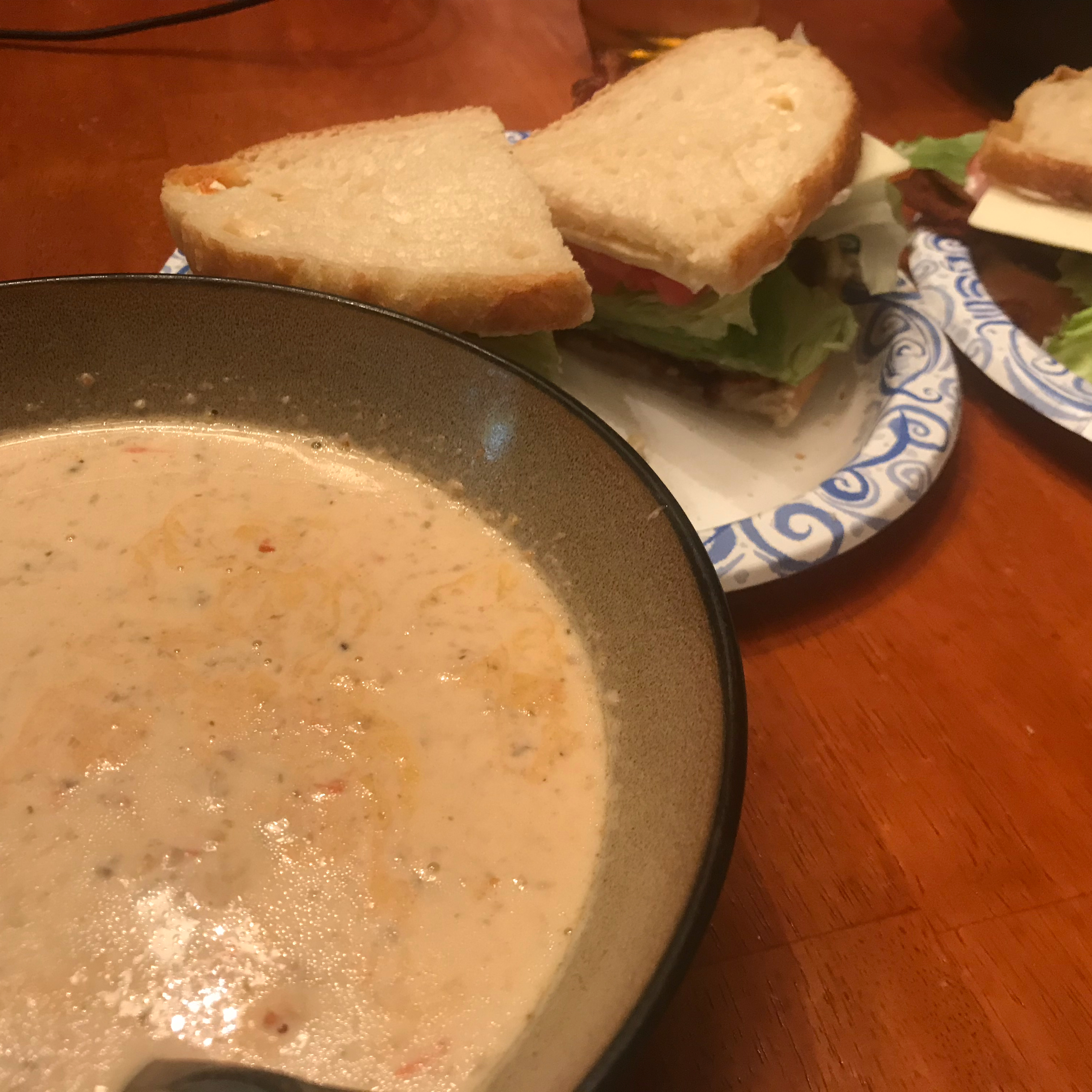 A Simple Seafood Bisque